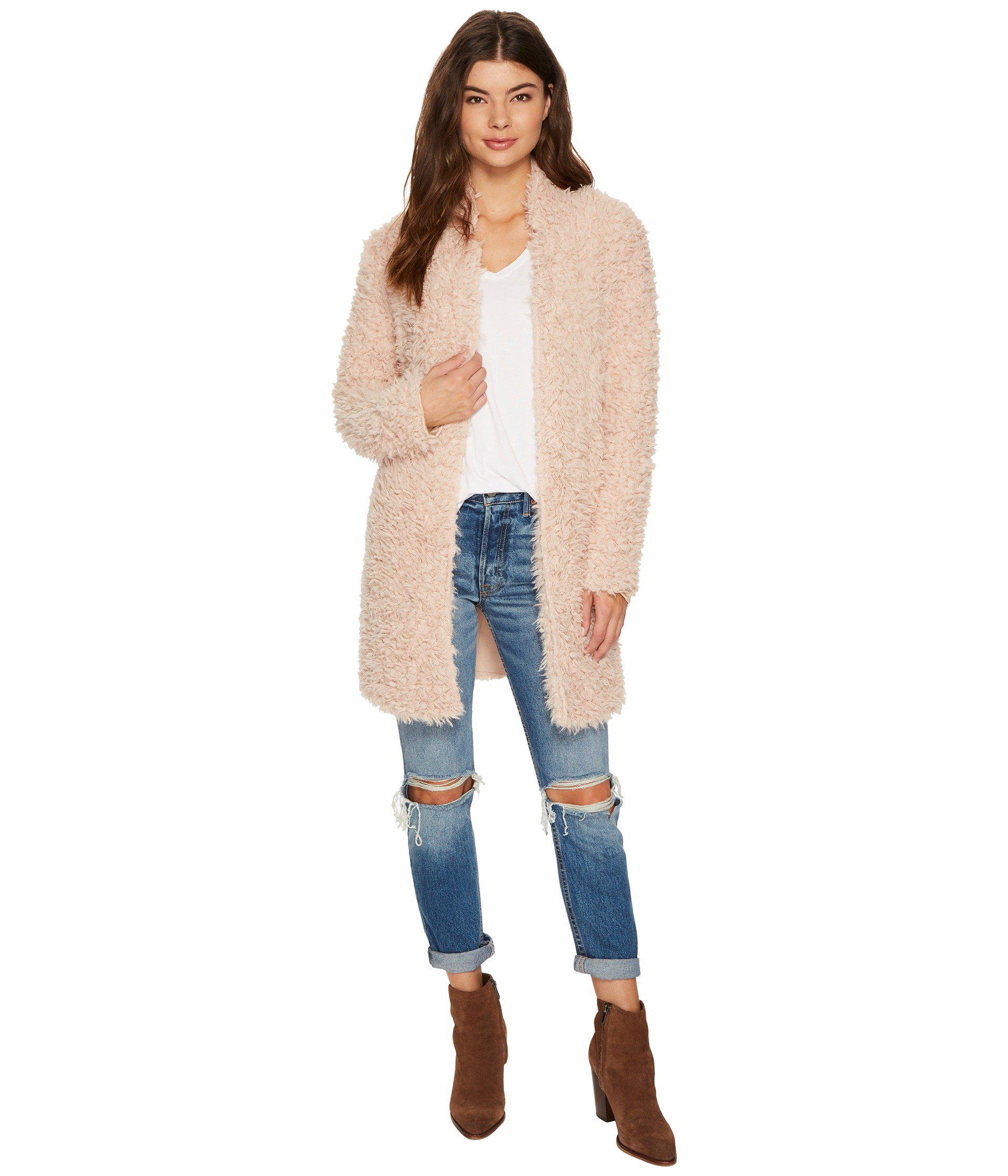 2267affe73b Lyst - Bishop + Young Faux Fur Jacket