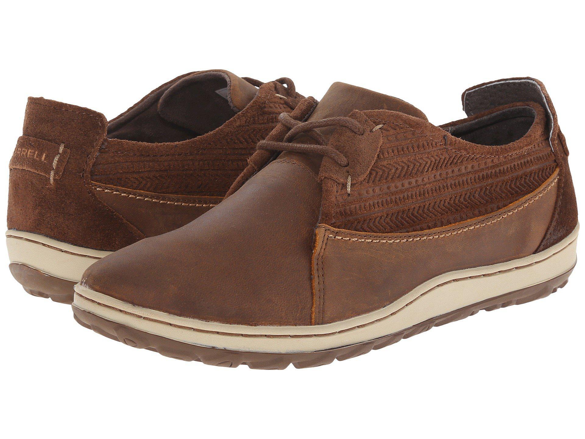 f6c1a409de4b Lyst - Merrell Ashland Tie in Brown for Men