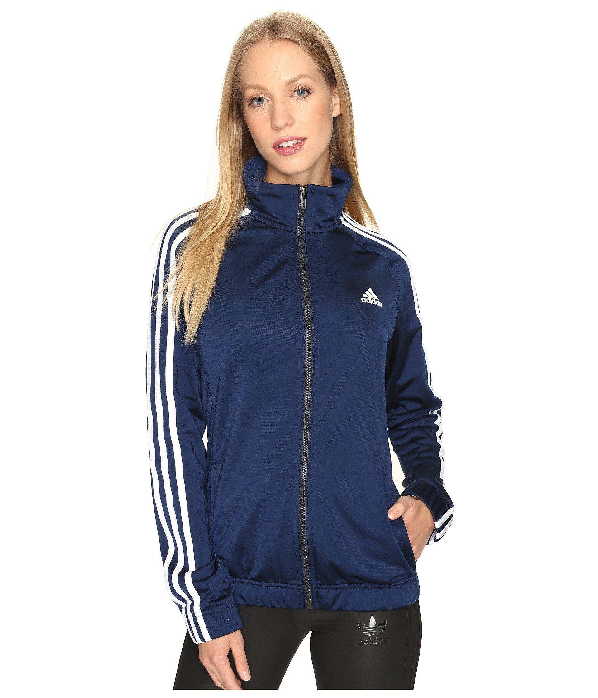 Lyst Adidas Designed 2 Move Track Top In Blue Save