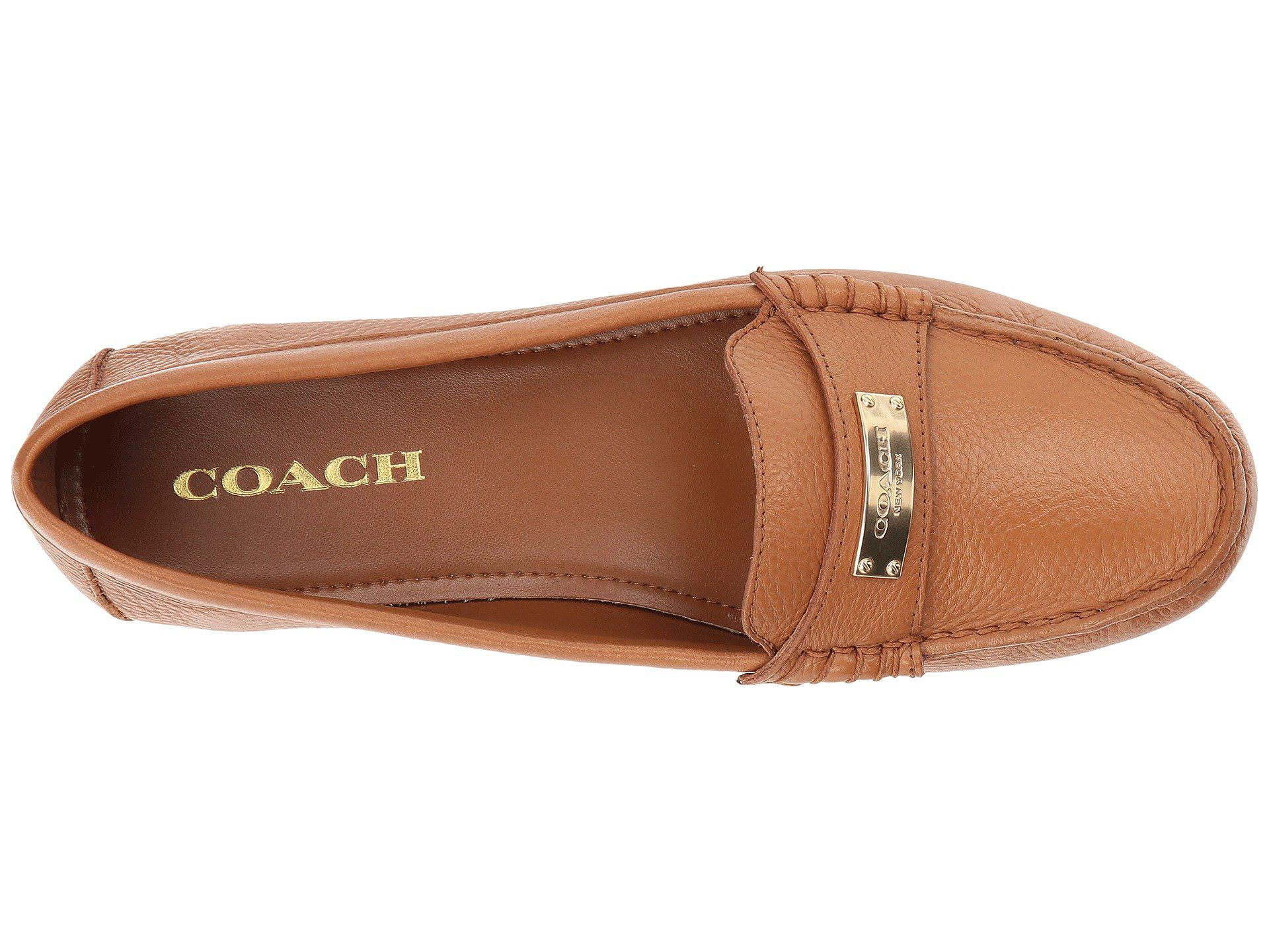 1ba015f8694 Lyst coach fredrica loafer in brown jpg 1920x1440 Fredrica loafer coach  flats