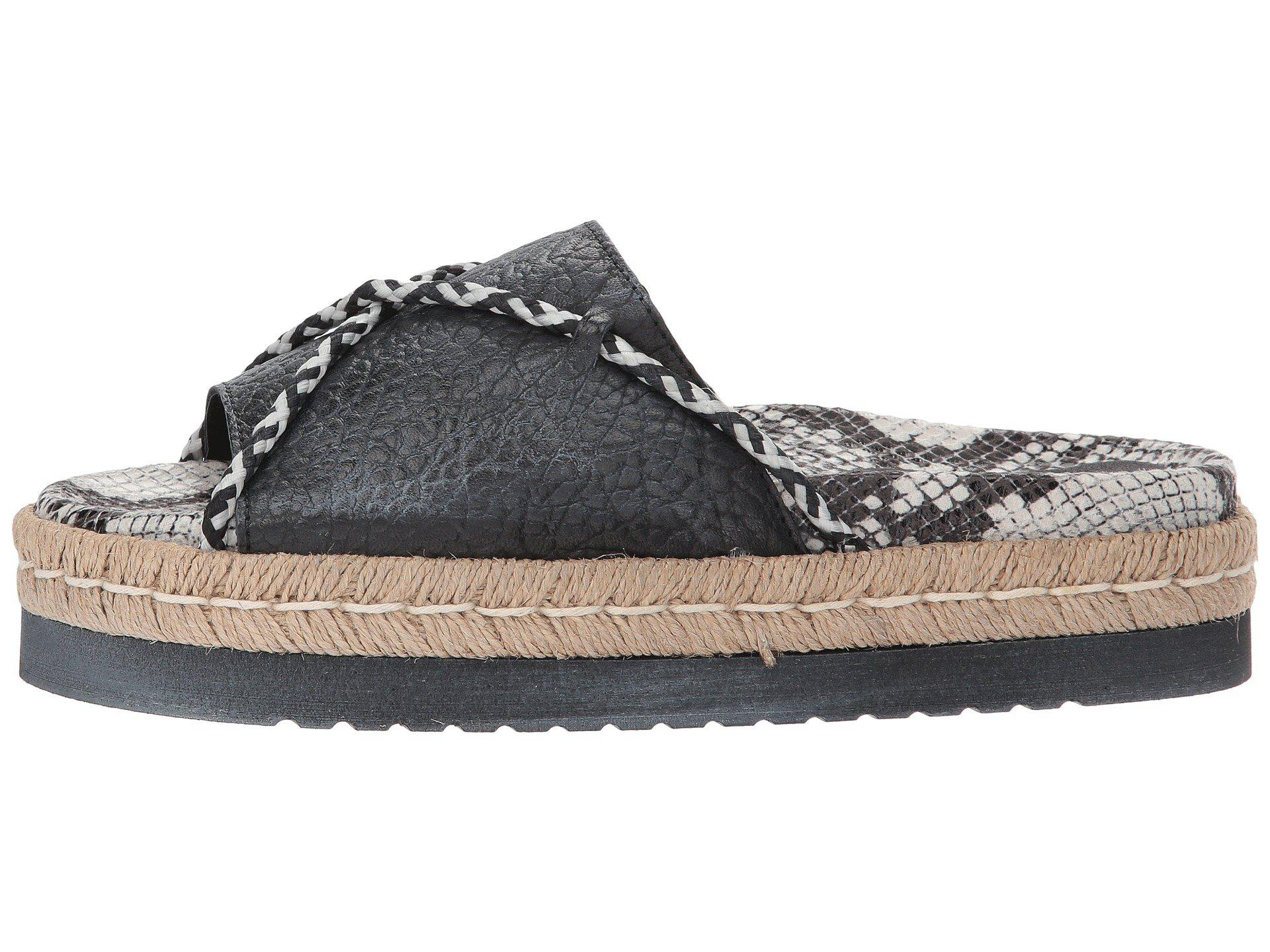e368b62fc Lyst - Free People Dempsey Footbed in Black - Save 66%