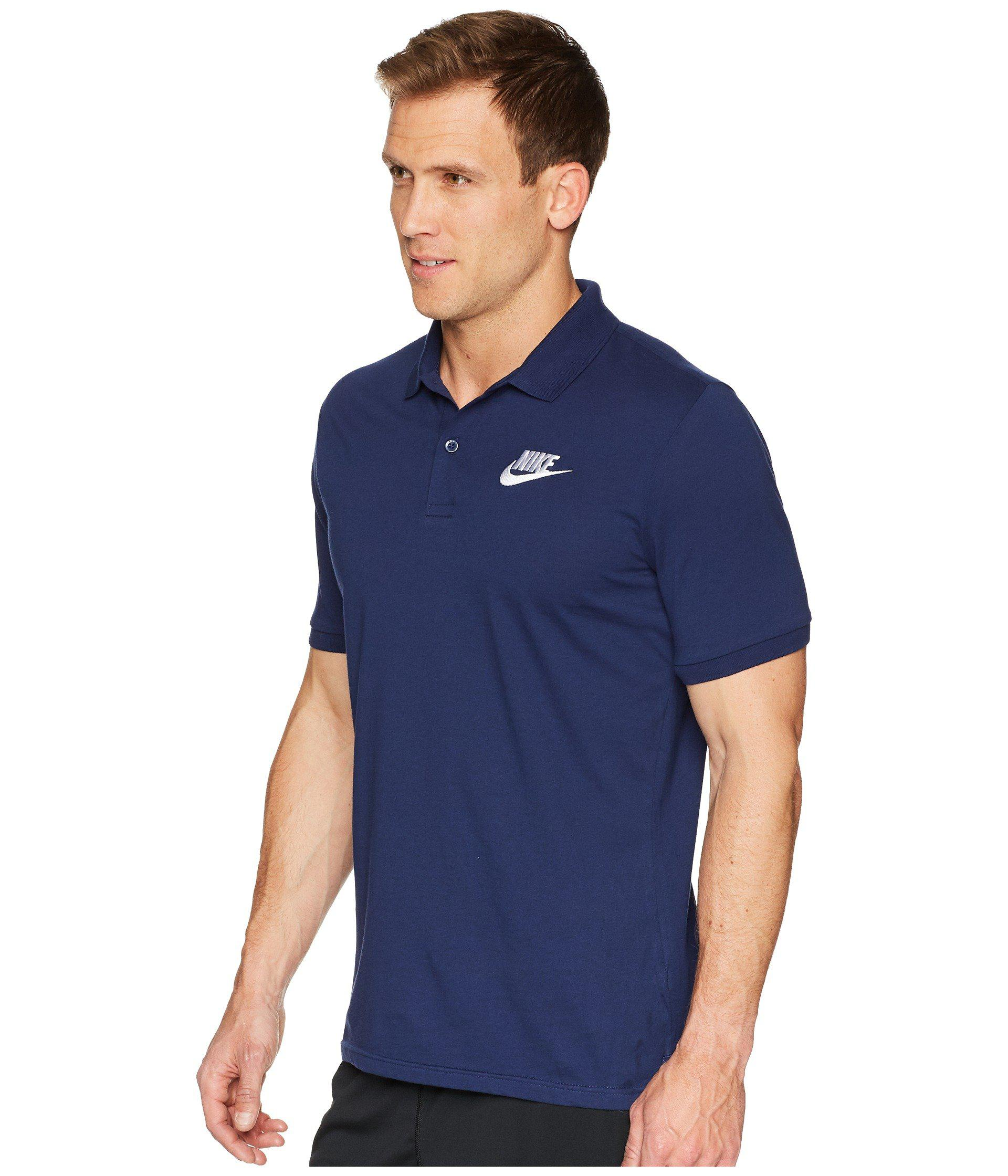 a36396ea94e Lyst - Nike Nsw Polo Jersey Matchup in Blue for Men - Save 24%