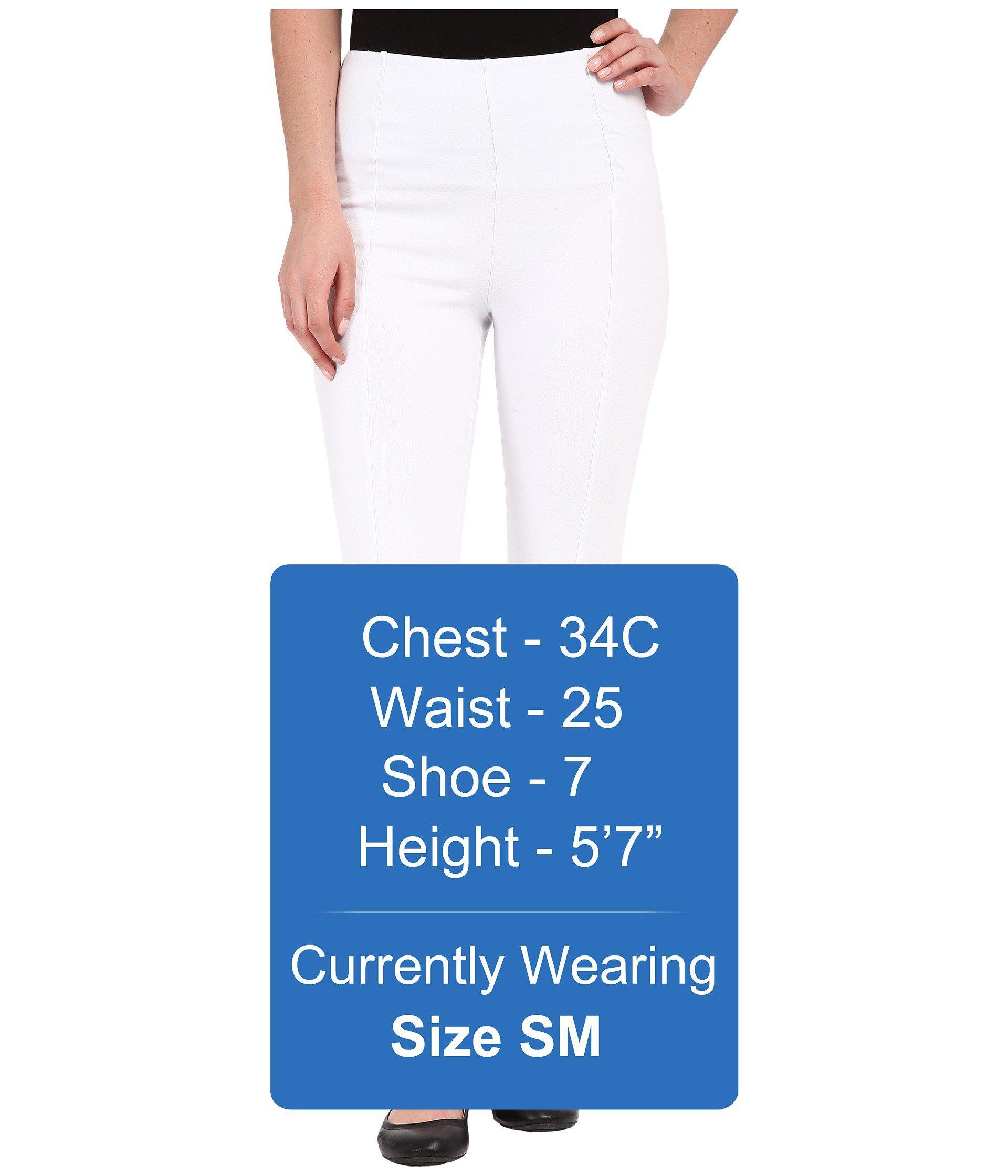 c160a6bd2c2dfd Lyst - Lyssé Clara Cotton Leggings in White
