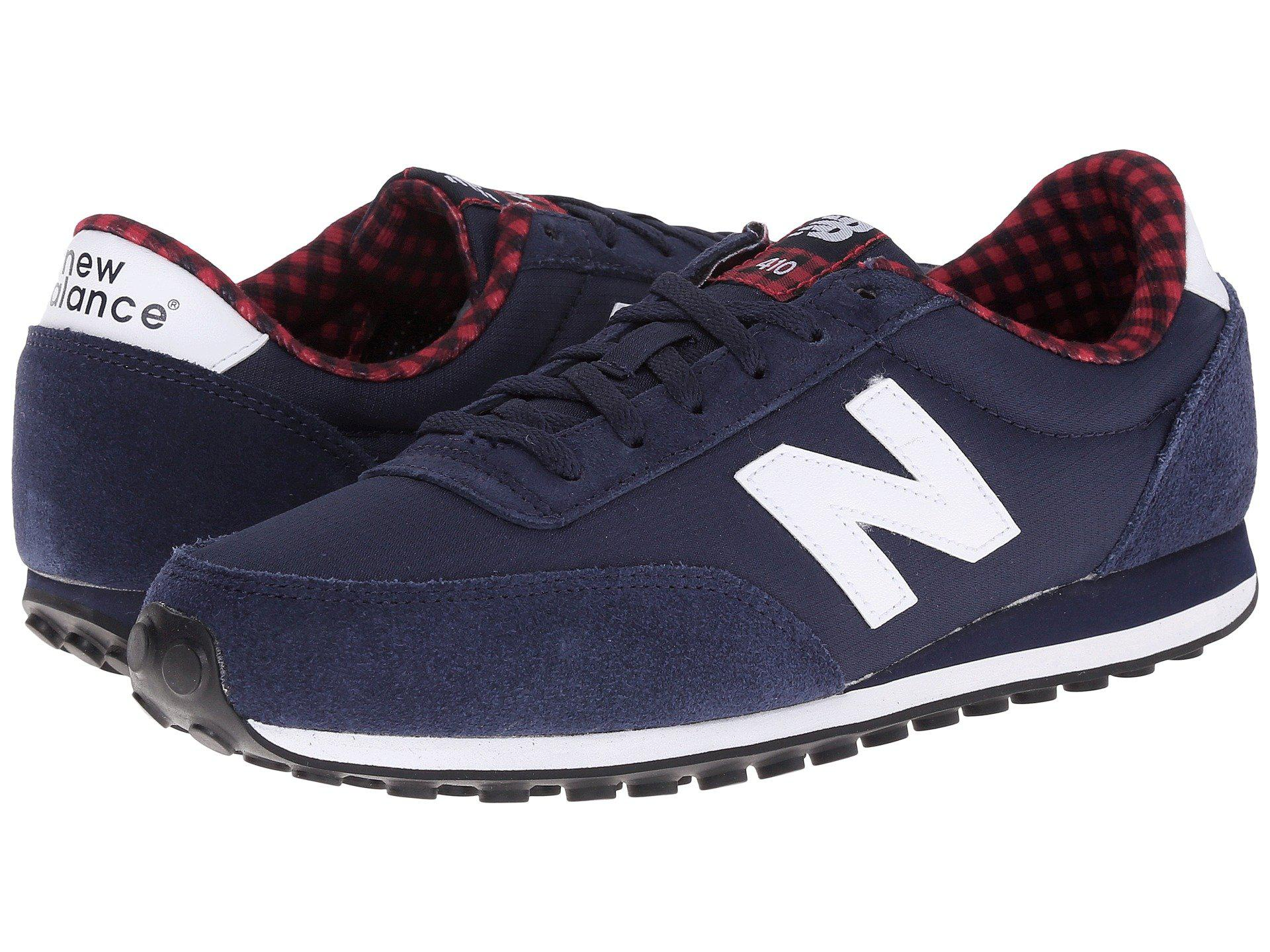 Womens Shoes New Balance Classics WL410 Navy Suede/Textile