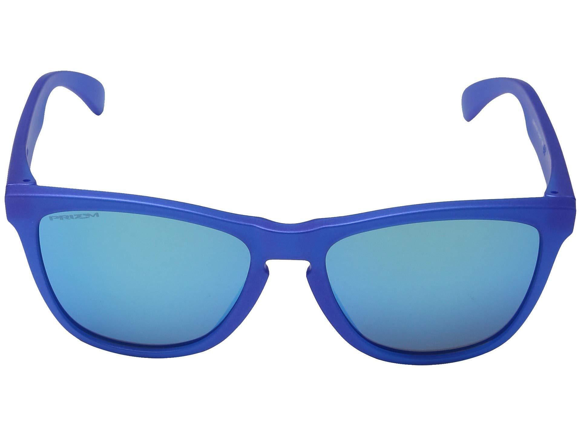 7794b70b31e Lyst - Oakley Frogskins in Blue