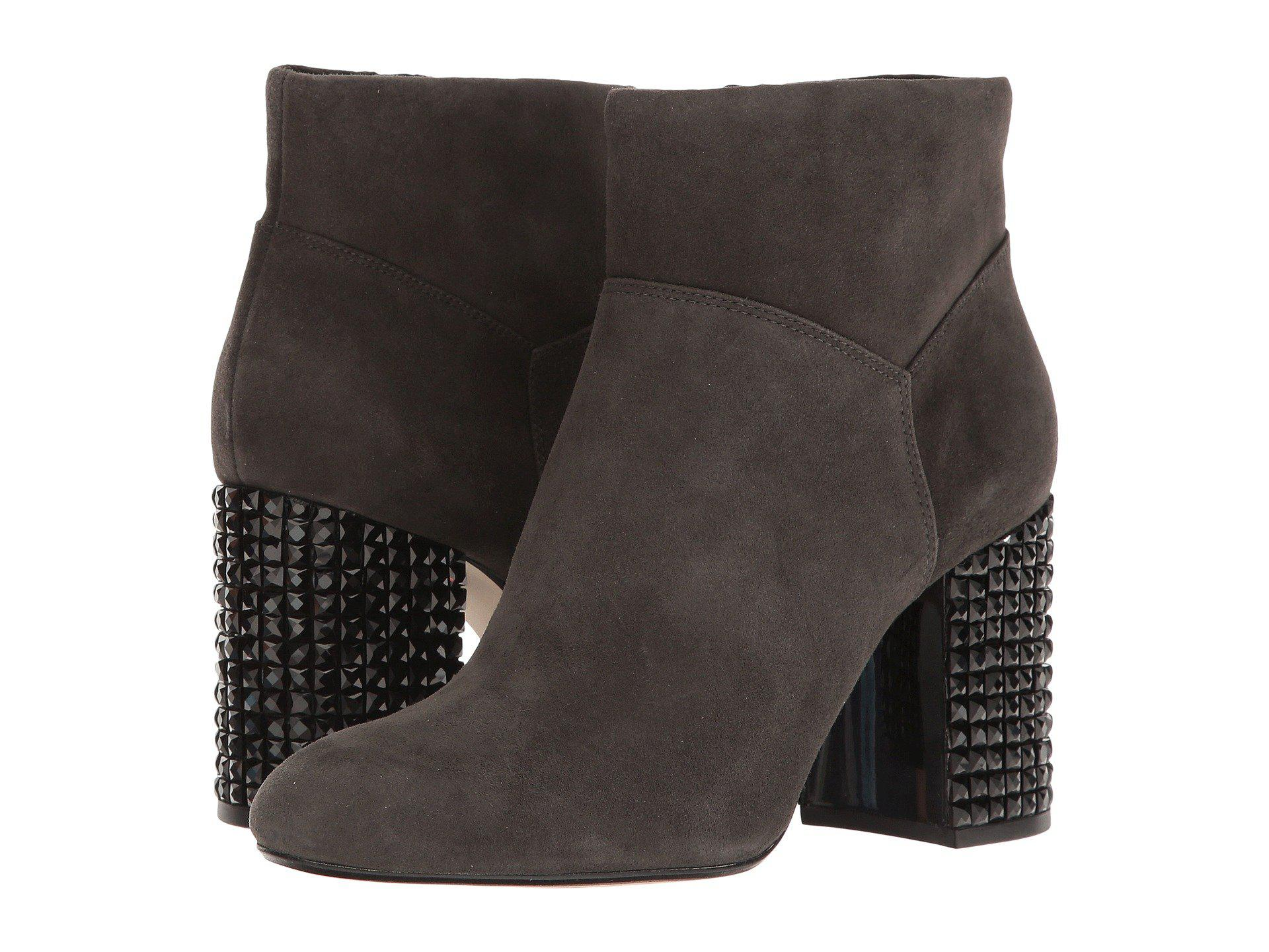 7597374238ebd MICHAEL Michael Kors Multicolor Arabella Ankle Boot (charcoal) Women's  Pull-on Boots