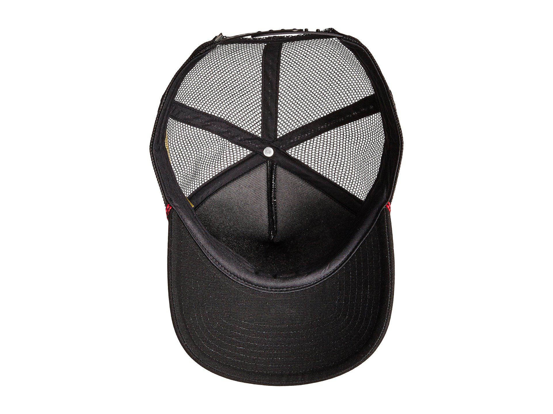095bf6287a4 Lyst - The North Face Cross Stitch Trucker Hat in Black for Men