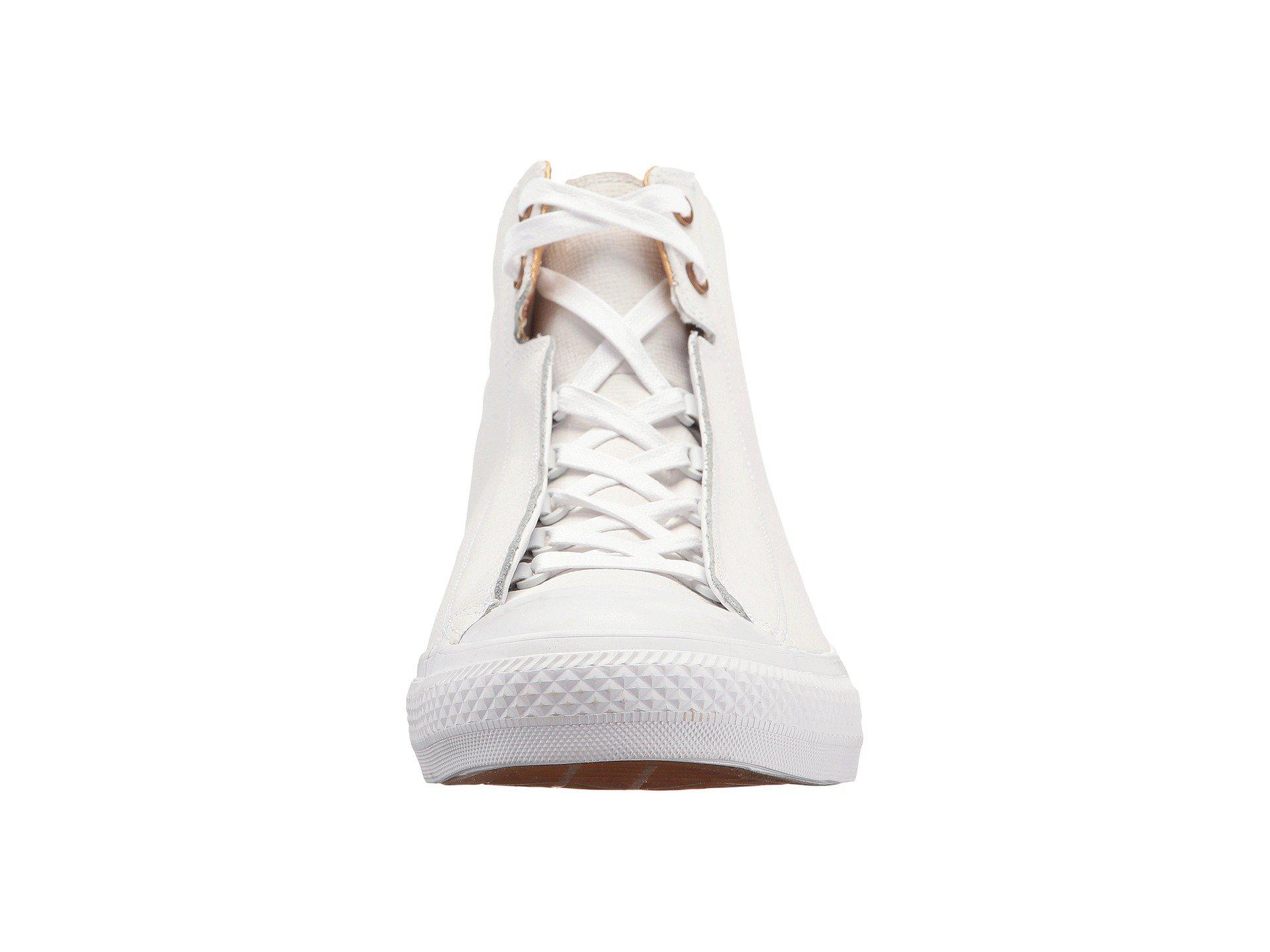 fbf1b490edd1 Lyst - Converse Chuck Taylor® All Star® Alpha Mid in White for Men