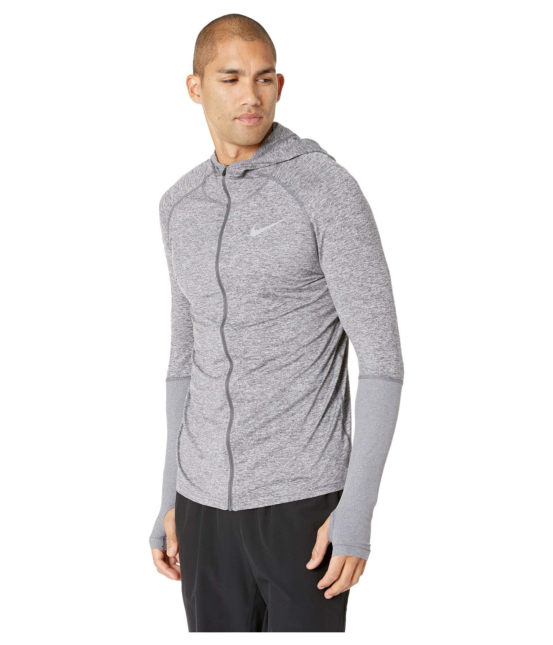 f101d5b4810fa Lyst - Nike Element Full Zip Hoodie in Gray for Men - Save 15%