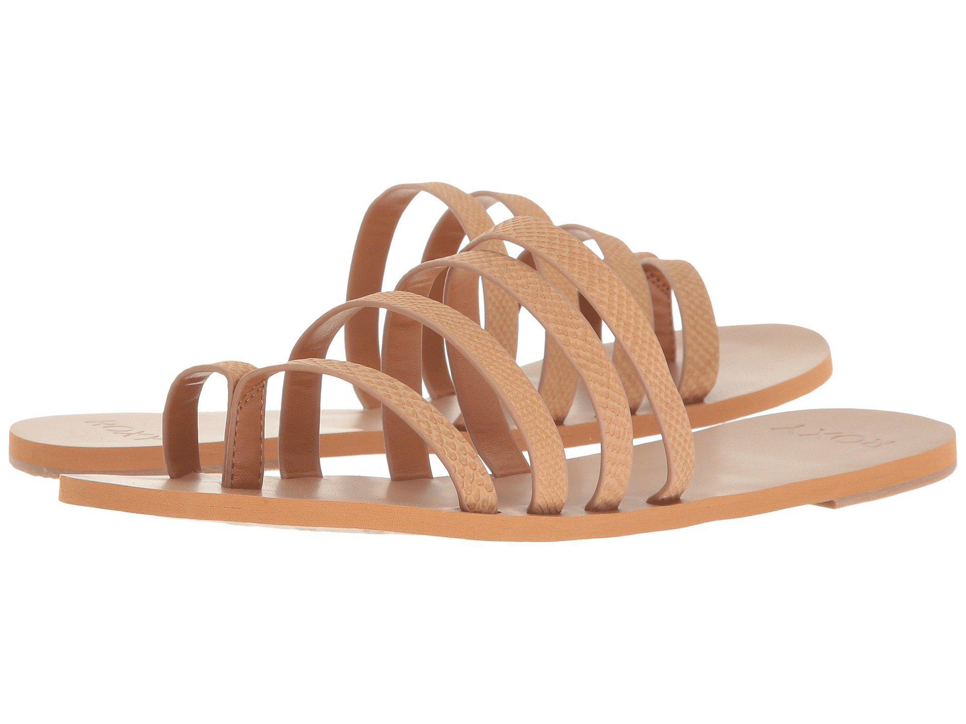 Sandals Roxy Mattie Tan