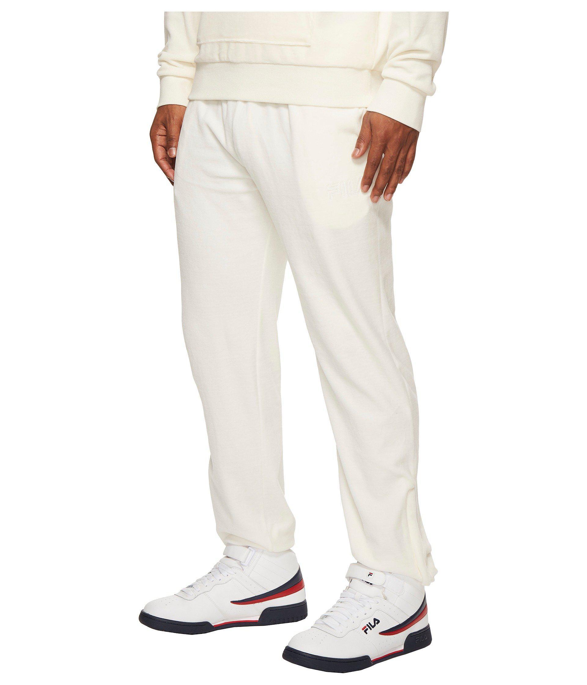 bcf2e39a4b79c Fila Yard Velour Pants for Men - Lyst