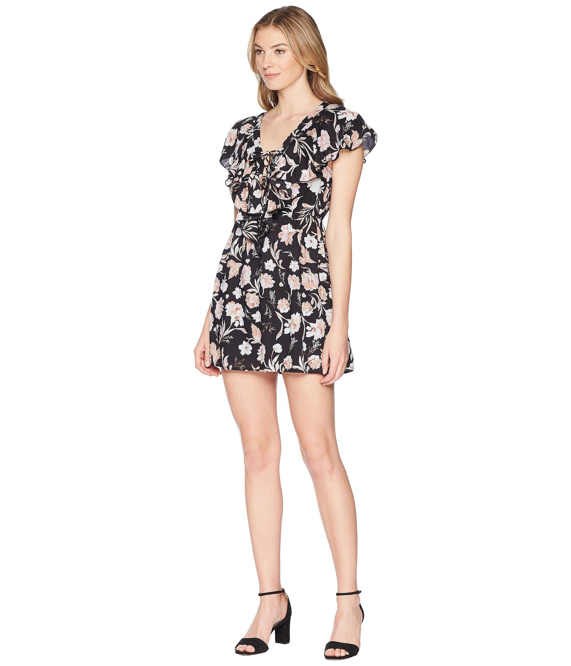 c849665adc31b7 Amuse Society Play Nice Dress in Black - Save 53% - Lyst