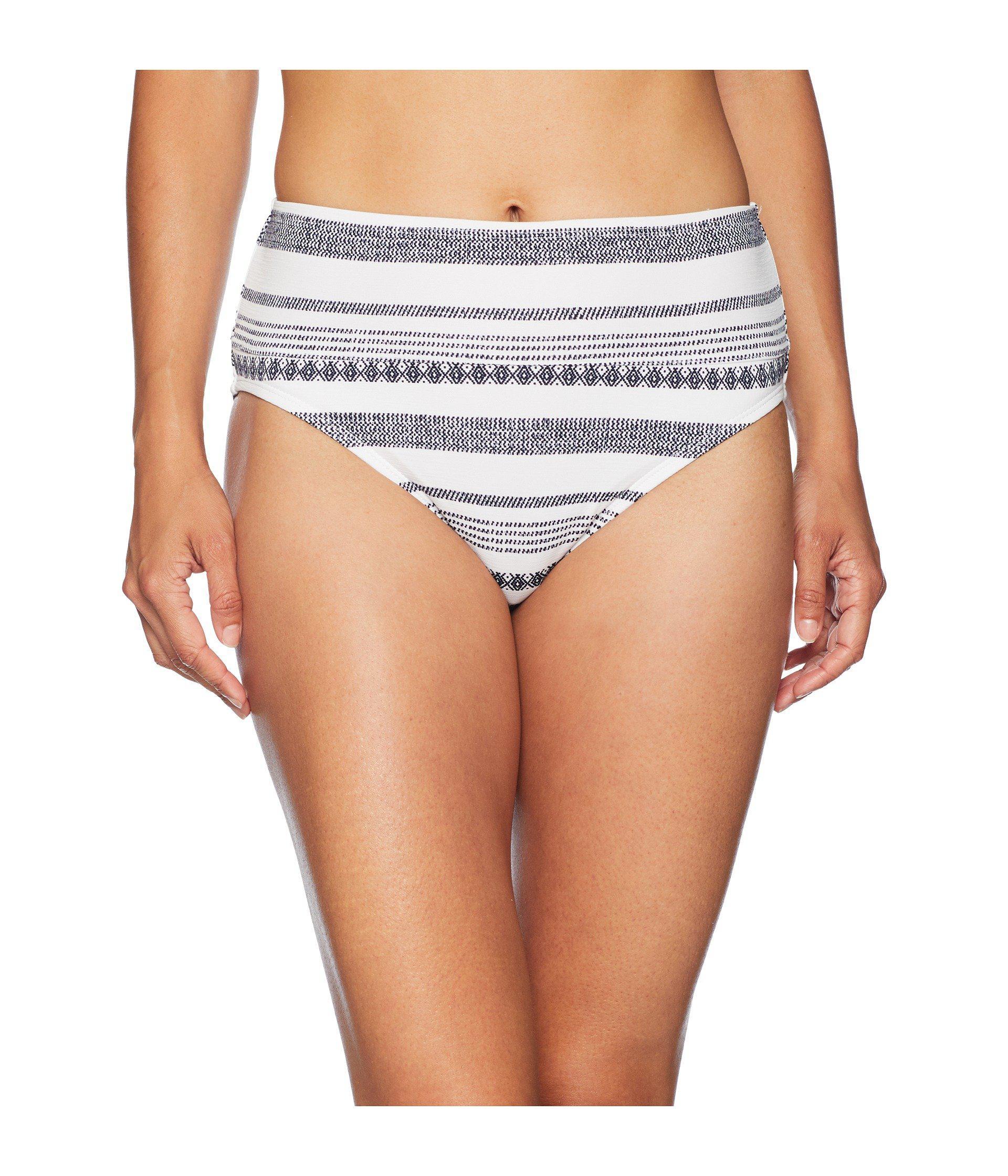 ae2d4b746d Lyst - Tommy Bahama Sandbar Wide Band High-waist Bottom in White