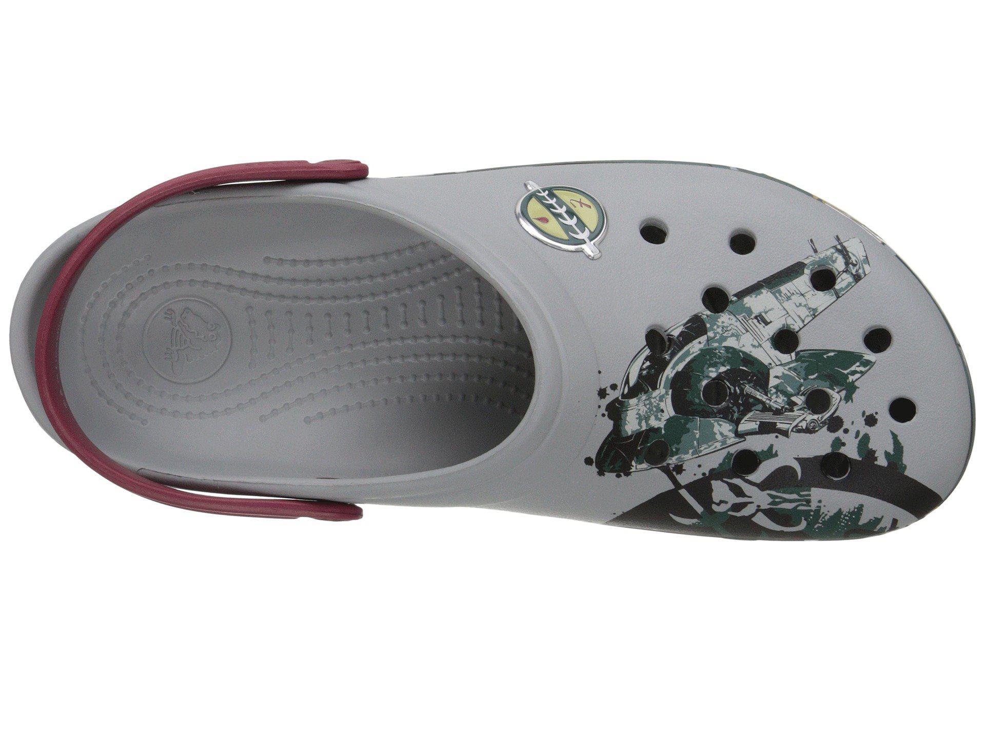 00eecf8ee Lyst - Crocs™ Cb Star Wars Boba Fett Clog in Gray