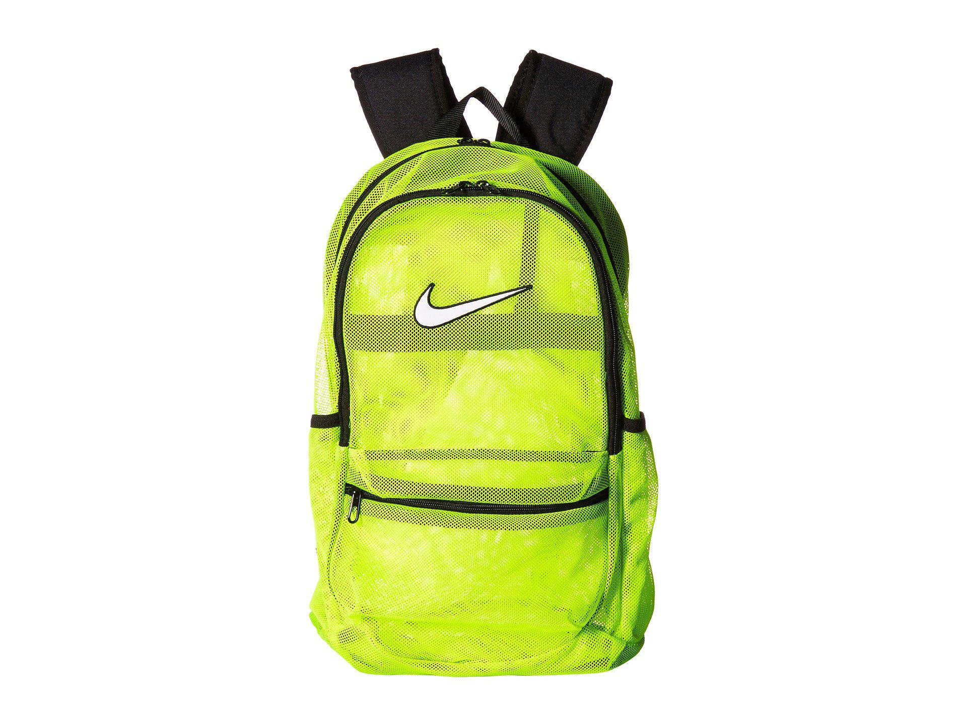 fad09b397b01 Lyst - Nike Brasilia Mesh Backpack in Black for Men