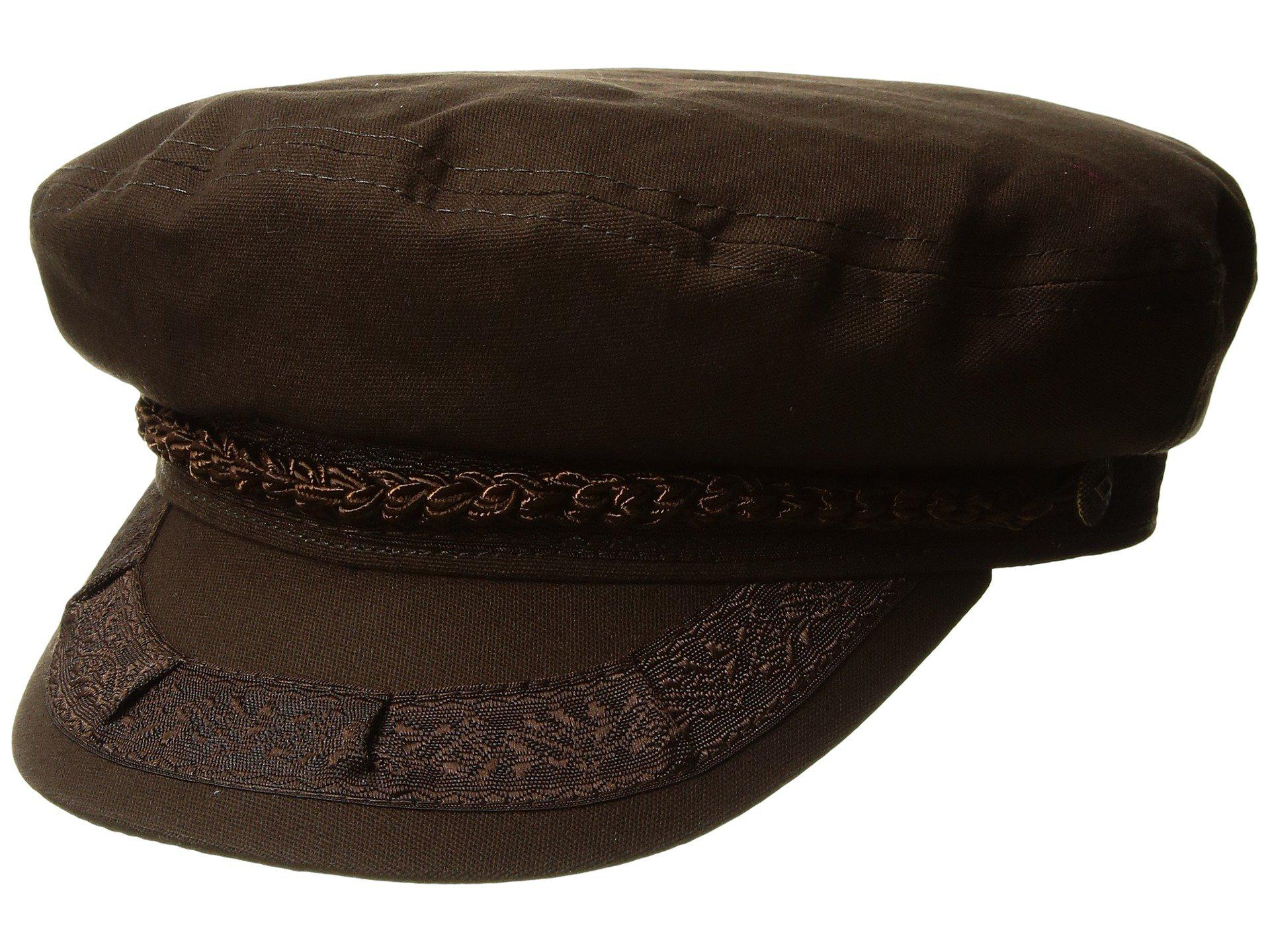 0a9c02a9d24 Lyst - Brixton Athens Cap in Brown for Men