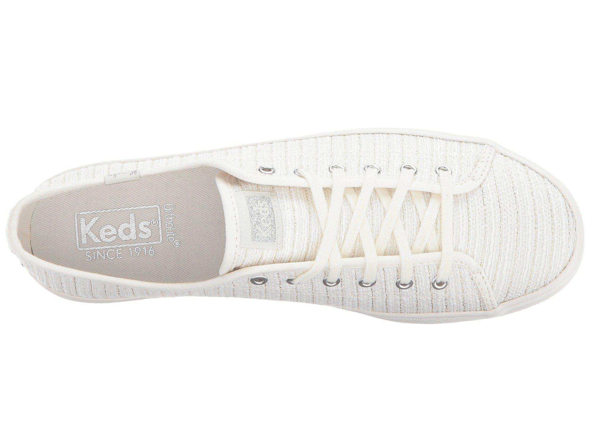 Keds Kickstart Lurex Stripe Sneaker FOuxGVjacy