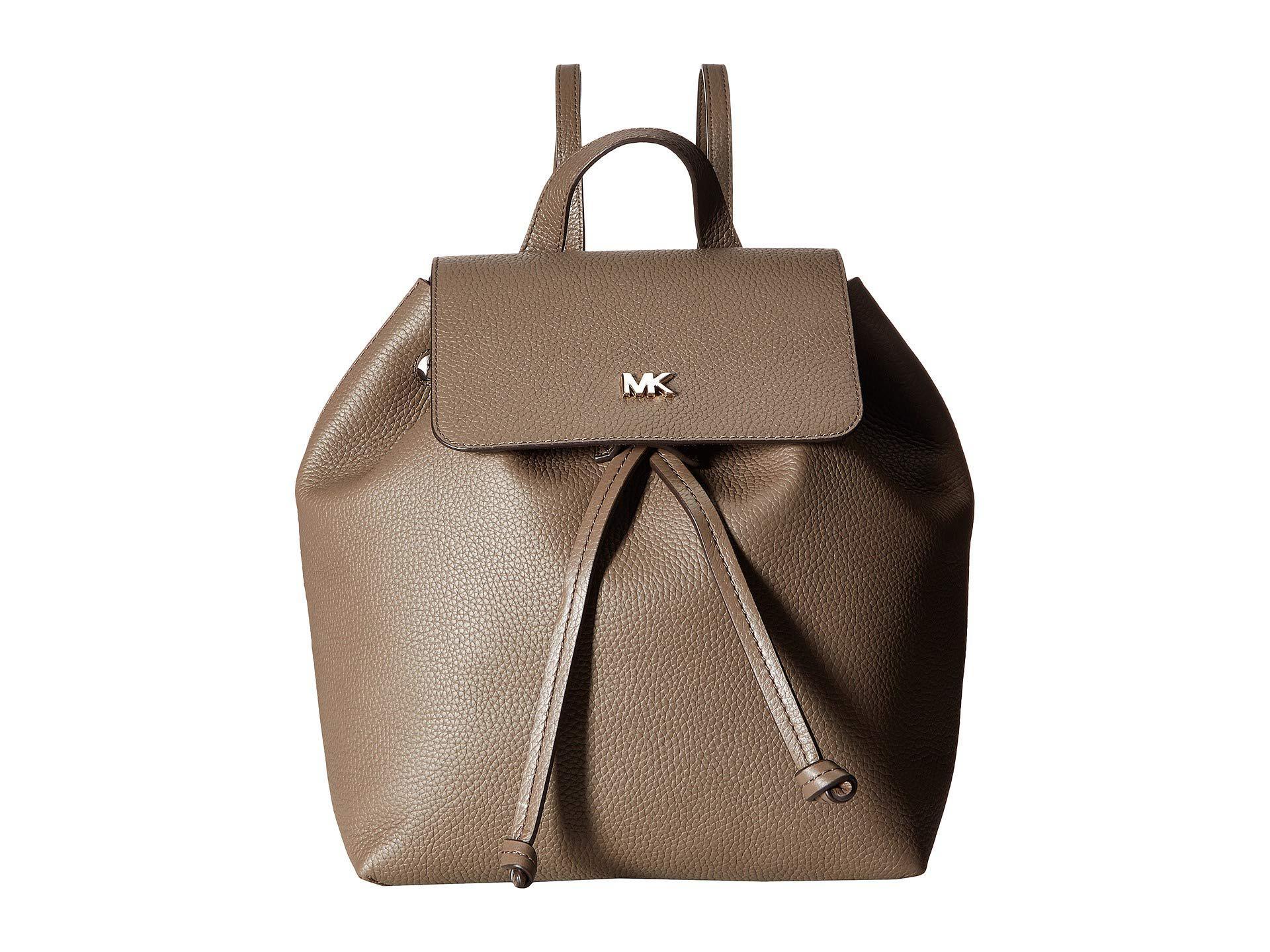 14b7956e6063 Lyst - MICHAEL Michael Kors Junie Medium Flap Backpack - Save 37%