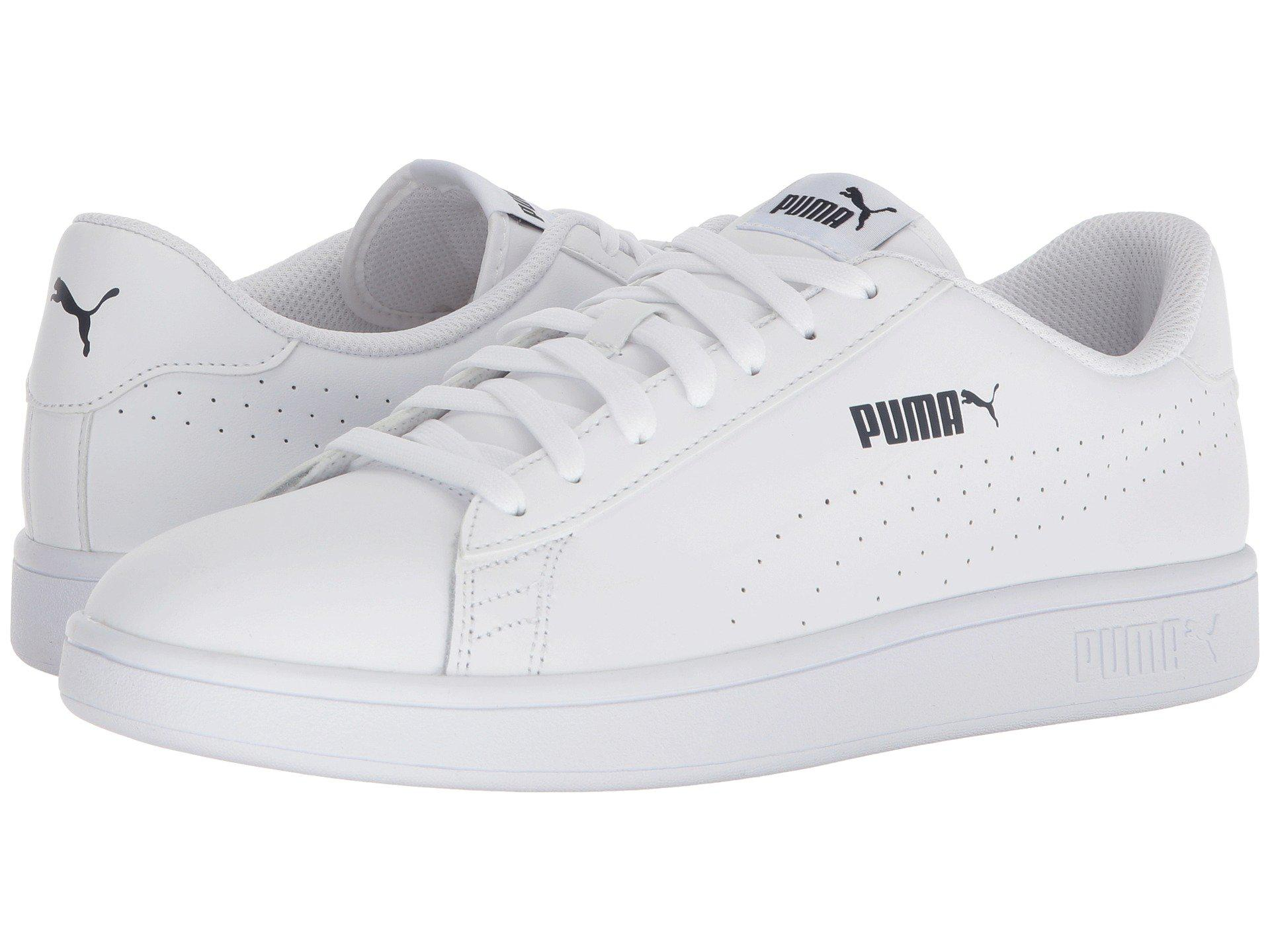 0974419c4ac Lyst - PUMA Smash V2 L Perf in White for Men
