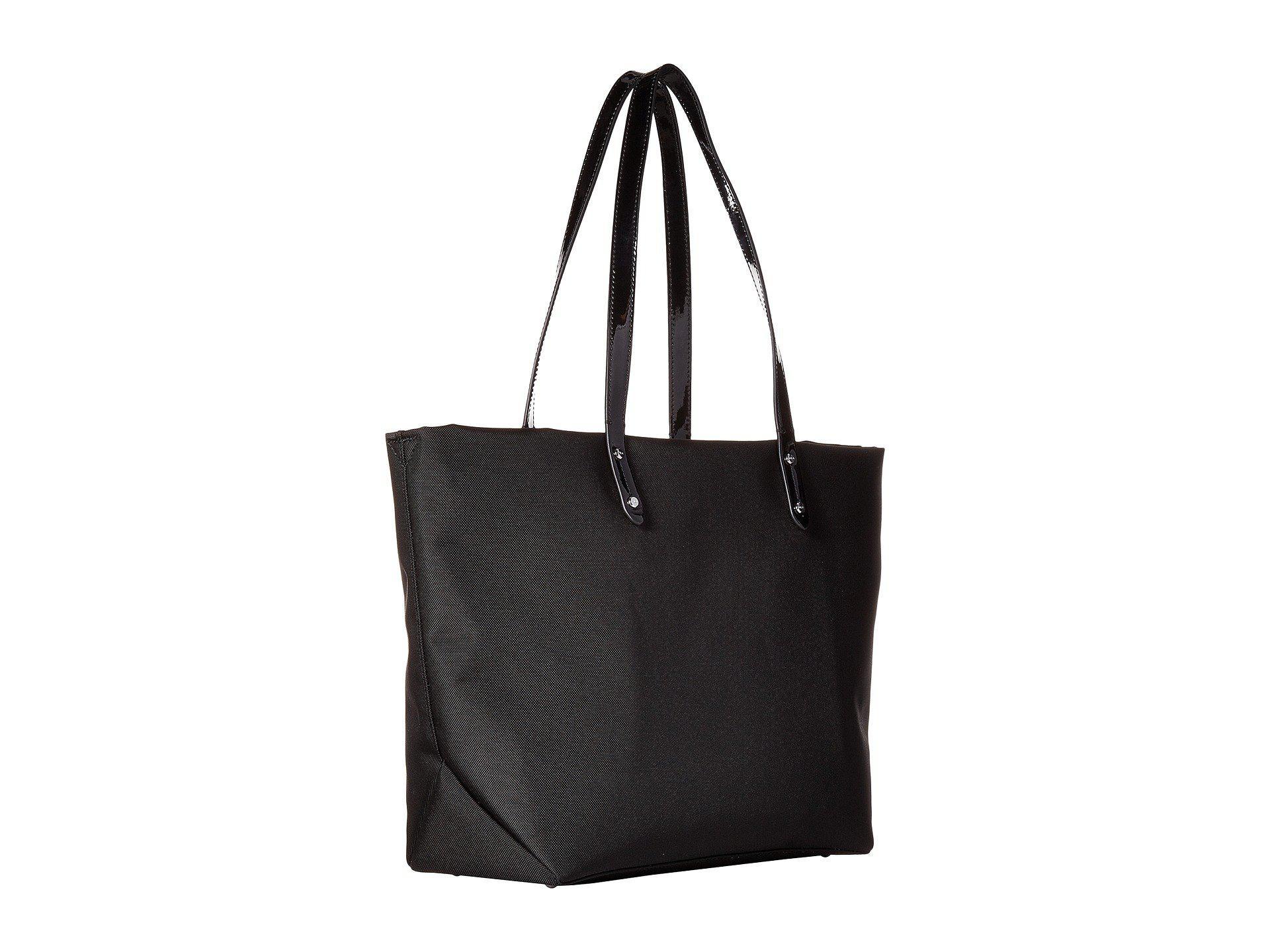 Lyst - Lauren By Ralph Lauren Bainbridge Tote Medium in Black 0fd601cf869ed