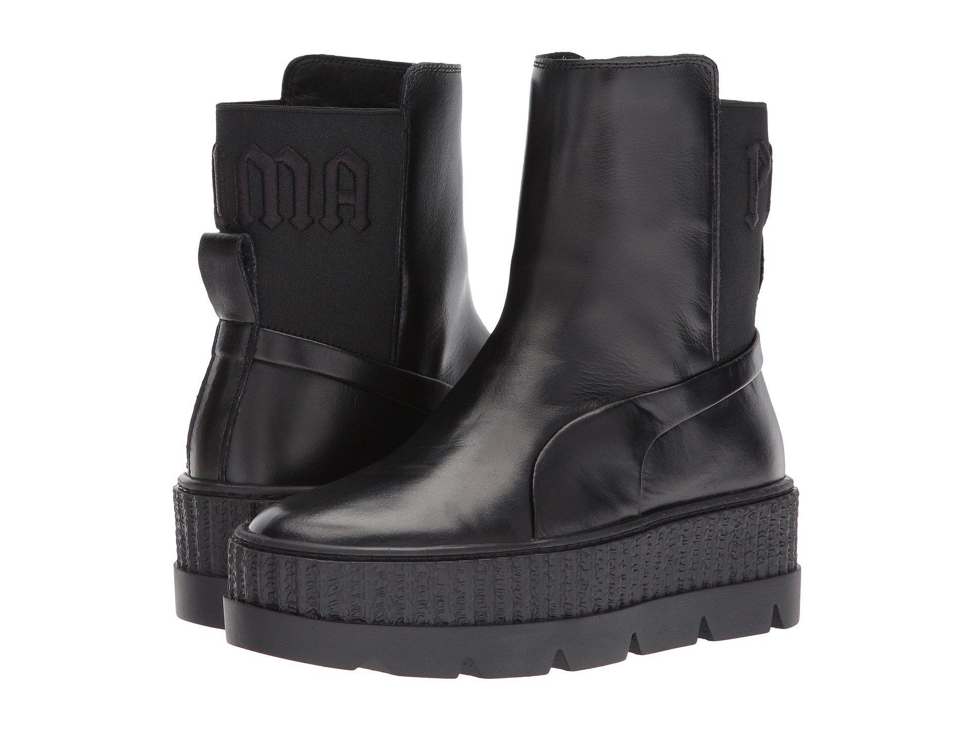 f45a1db4007 Lyst - PUMA X Fenty By Rihanna Chelsea Sneaker Boot in Black for Men