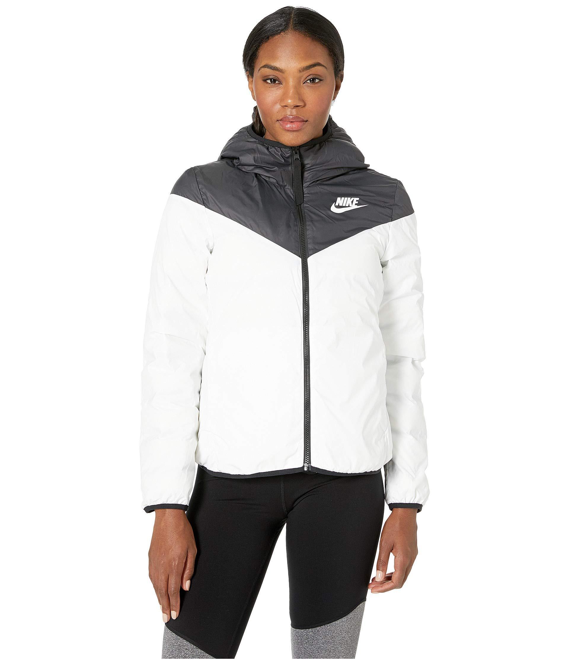 4a762b867b30 Nike - Black Sportswear Windrunner Down Fill Jacket Reversible - Lyst. View  fullscreen
