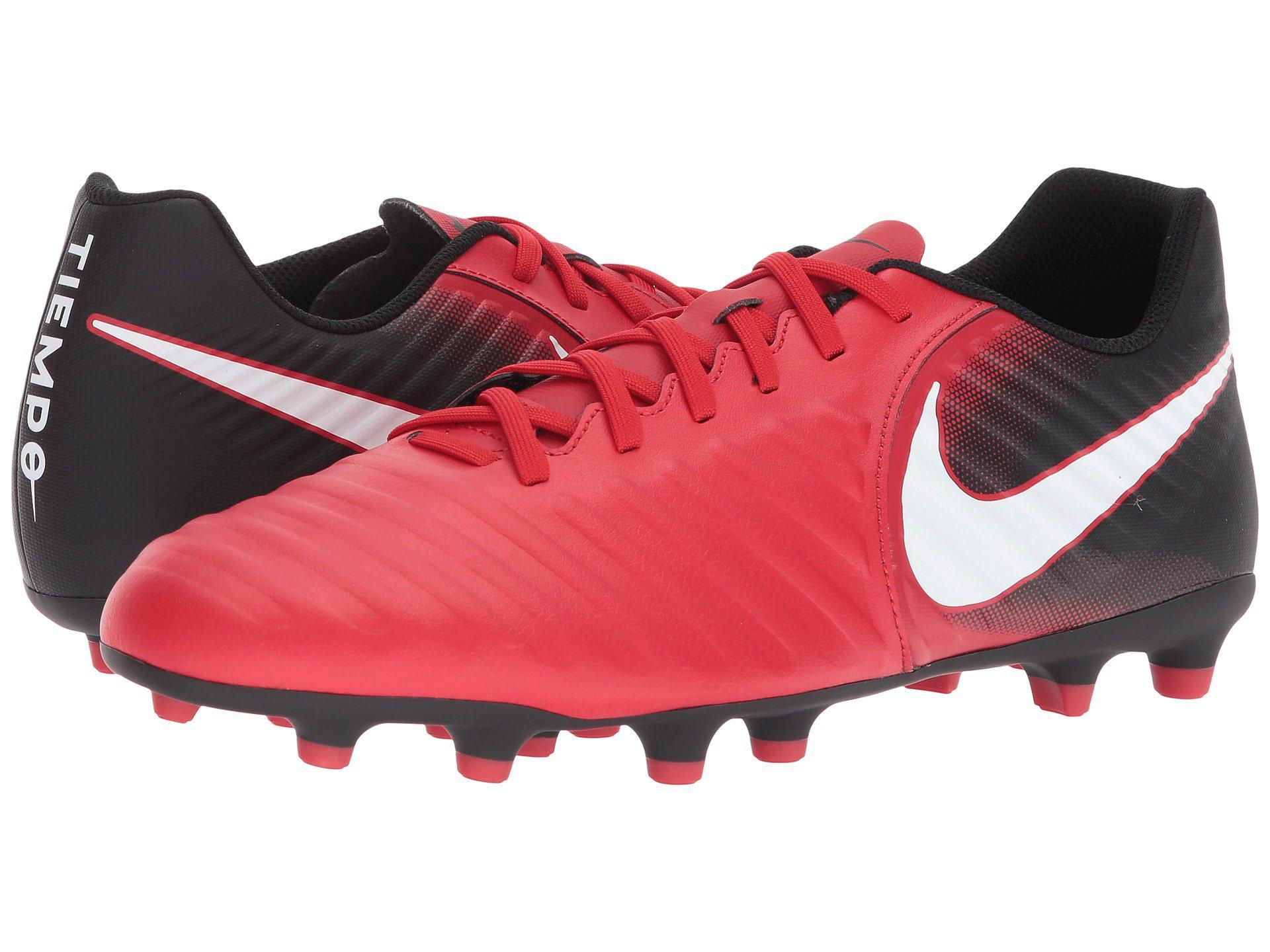 081ddfe77e85 Lyst - Nike Tiempo Rio Iv Fg in Red for Men