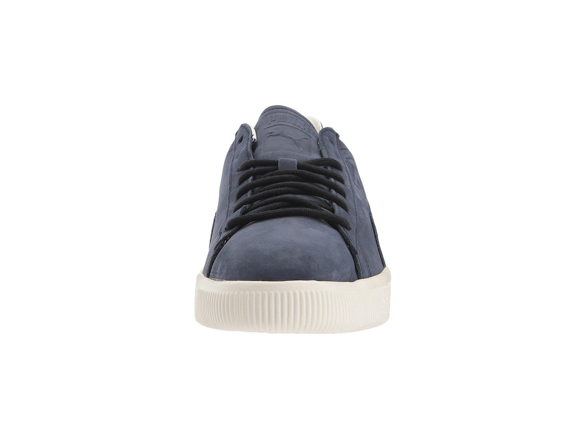 551585aa064 Lyst - PUMA Clyde Frosted in Blue for Men