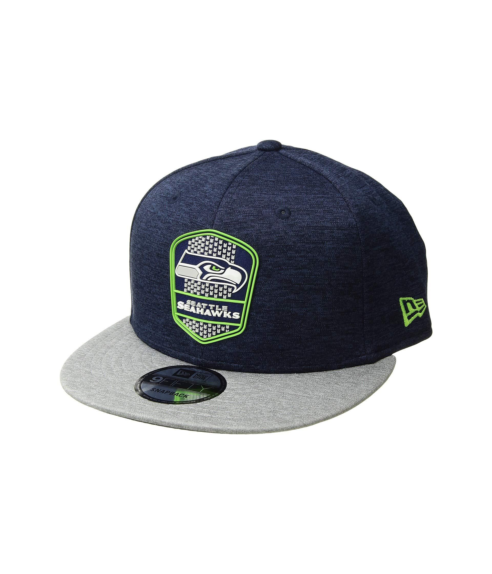 more photos 2a677 ca701 KTZ. Men s Blue 9fifty Official Sideline Away Snapback - Seattle Seahawks