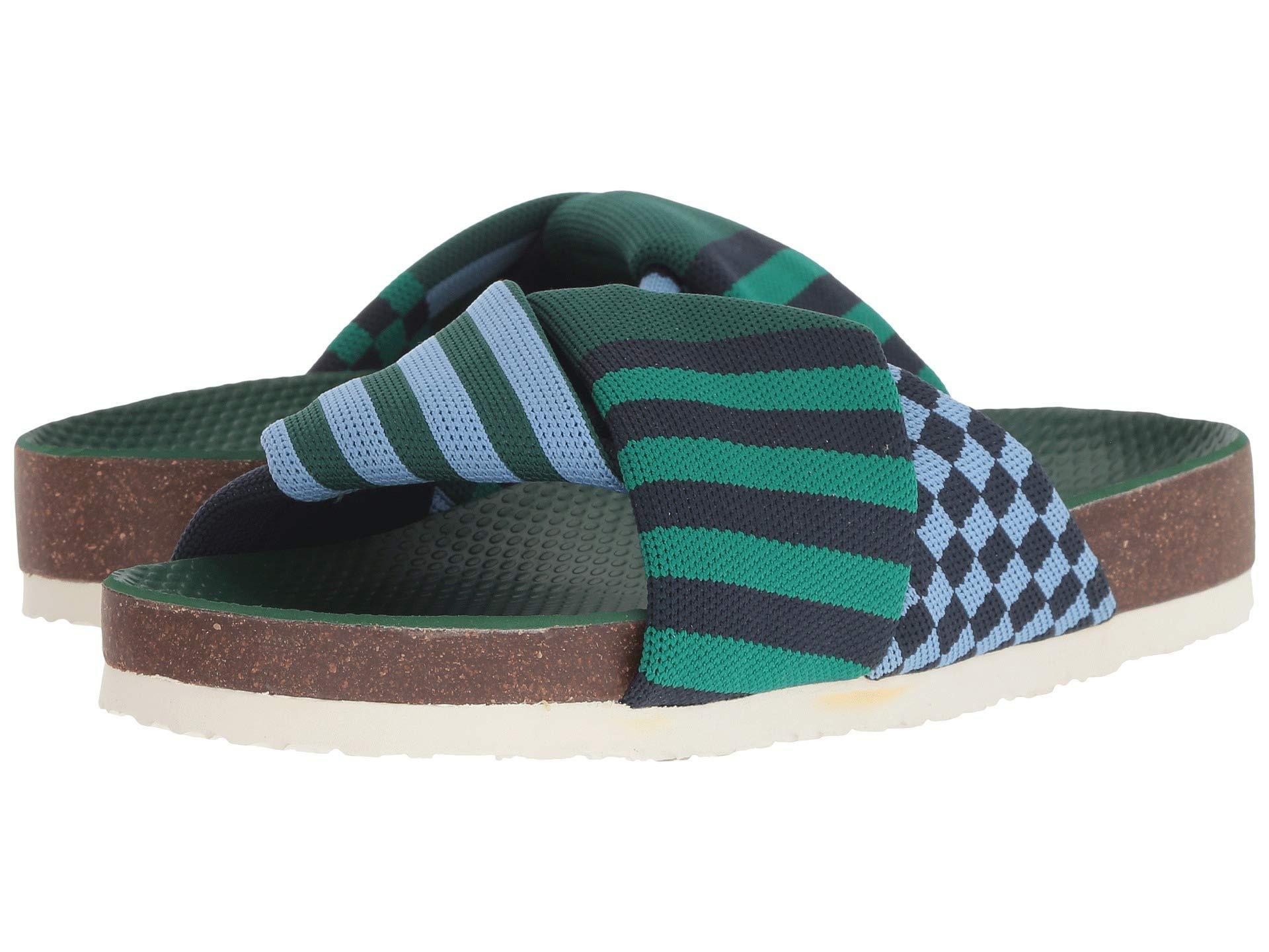 84ee01a0dc21 Lyst - Tory Sport Tech Knit Slide in Green