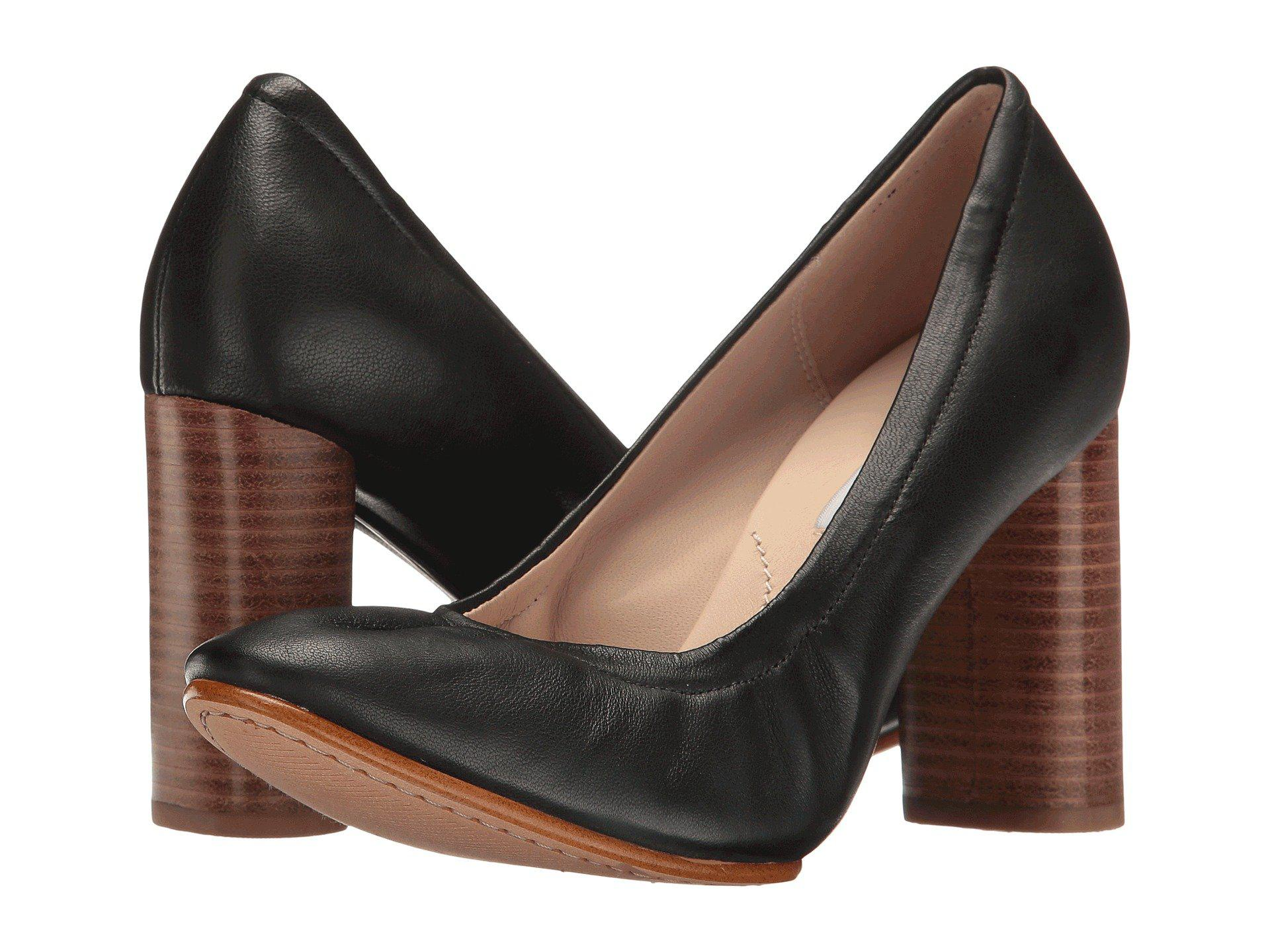 53ae49de3b7 Lyst - Clarks Grace Eva in Black