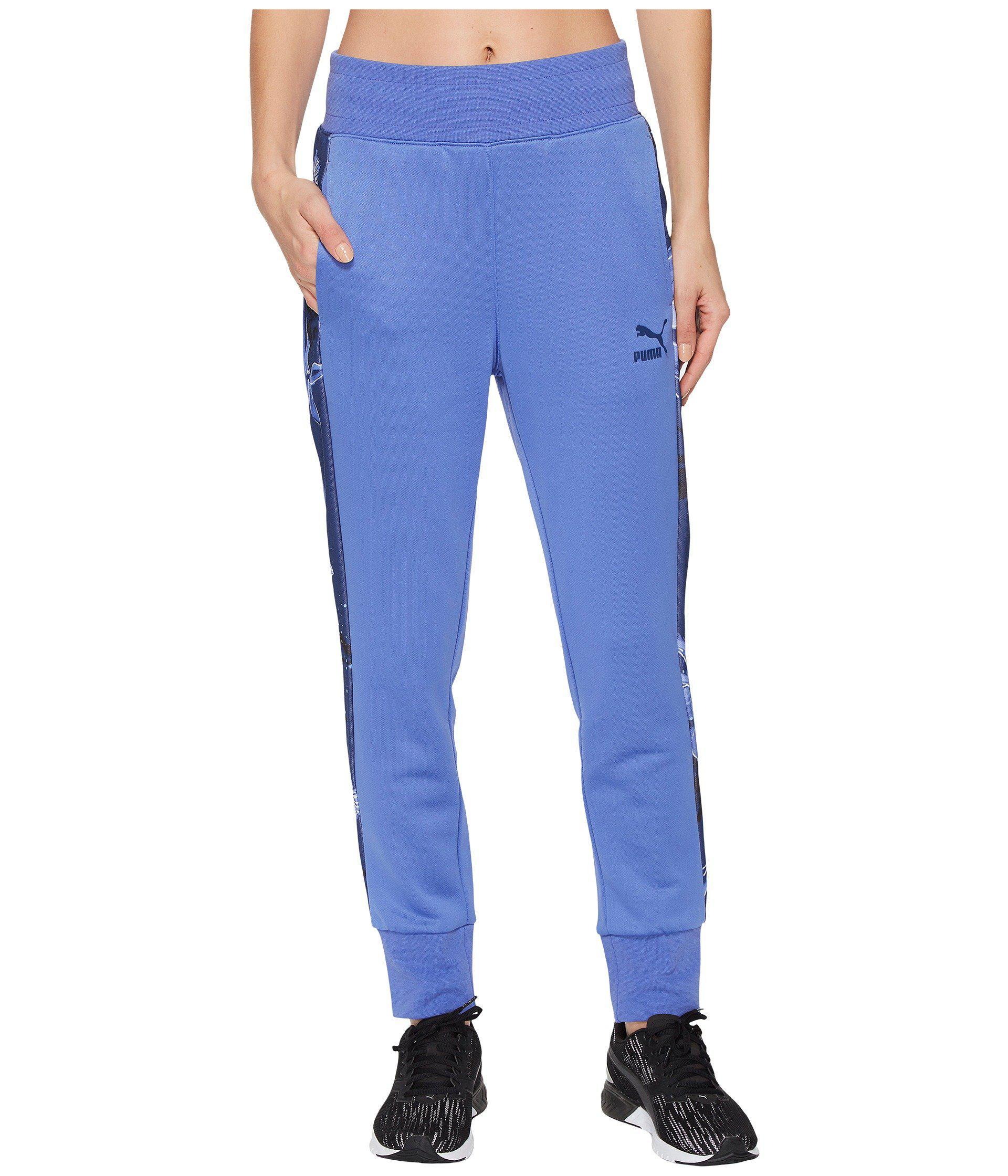 biggest discount 23409 5ca36 PUMA - Blue Archive T7 Track Pants for Men - Lyst. View fullscreen