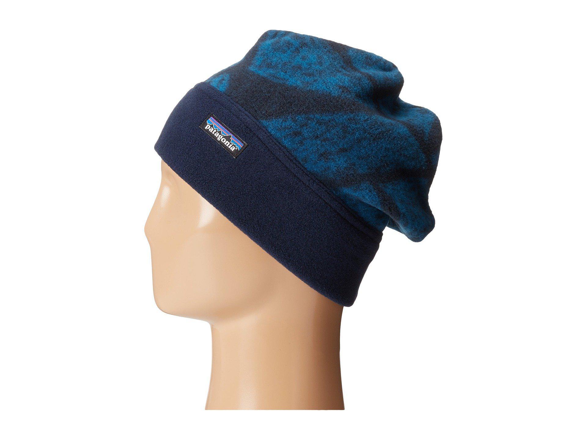 Lyst - Patagonia Synch Alpine Hat in Blue 65bb5505dc5