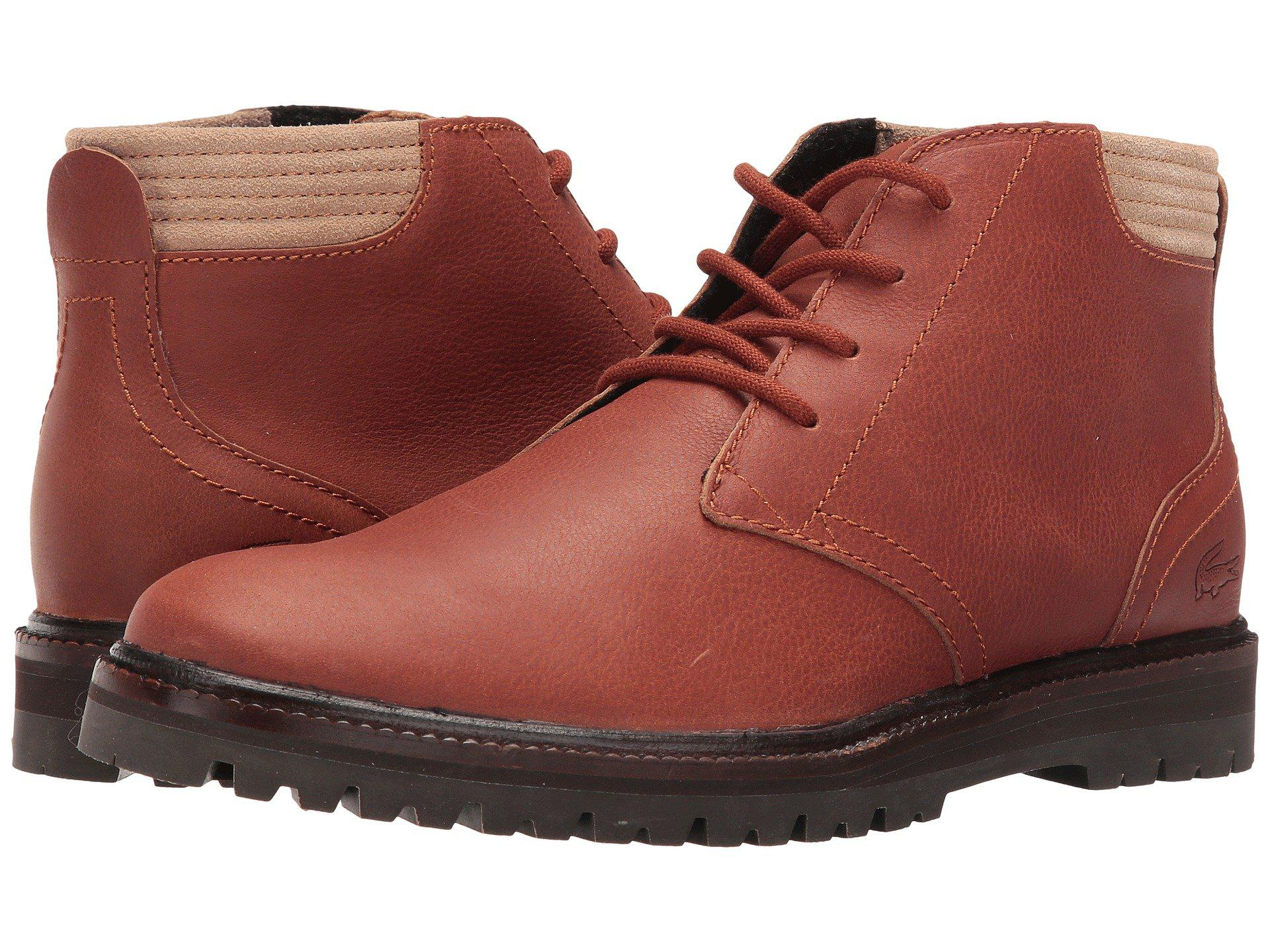 ffcffa3445c3f1 Lyst - Lacoste Montbard Chukka 416 1 in Brown for Men - Save 14%
