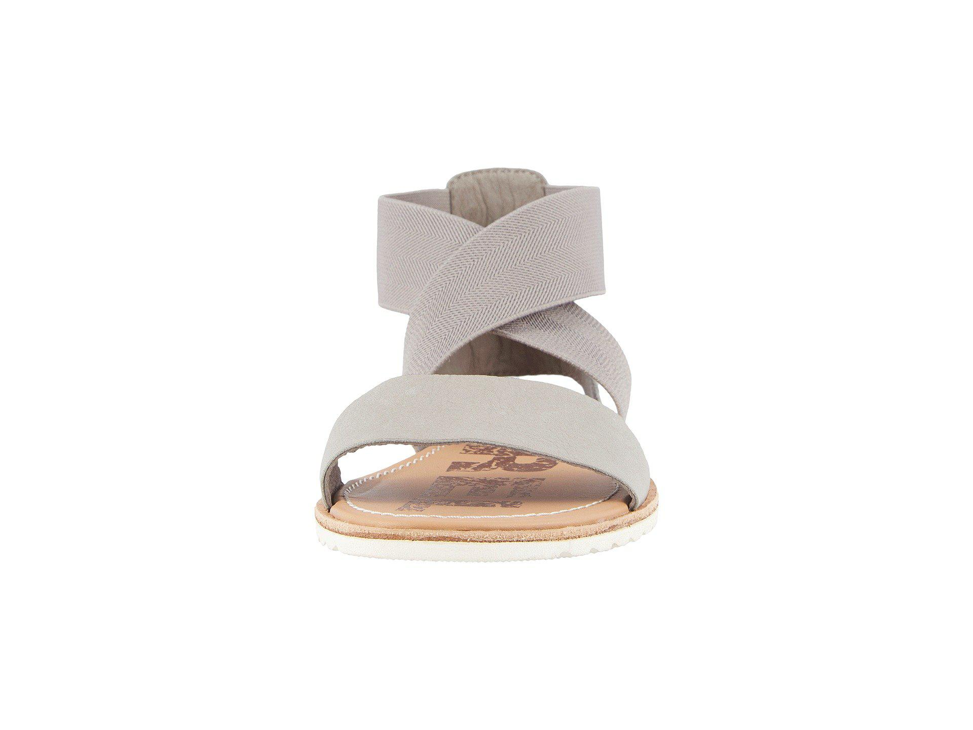 64d5a21665e Sorel - Multicolor Ella Sandal (pure Silver) Women s Sandals - Lyst. View  fullscreen