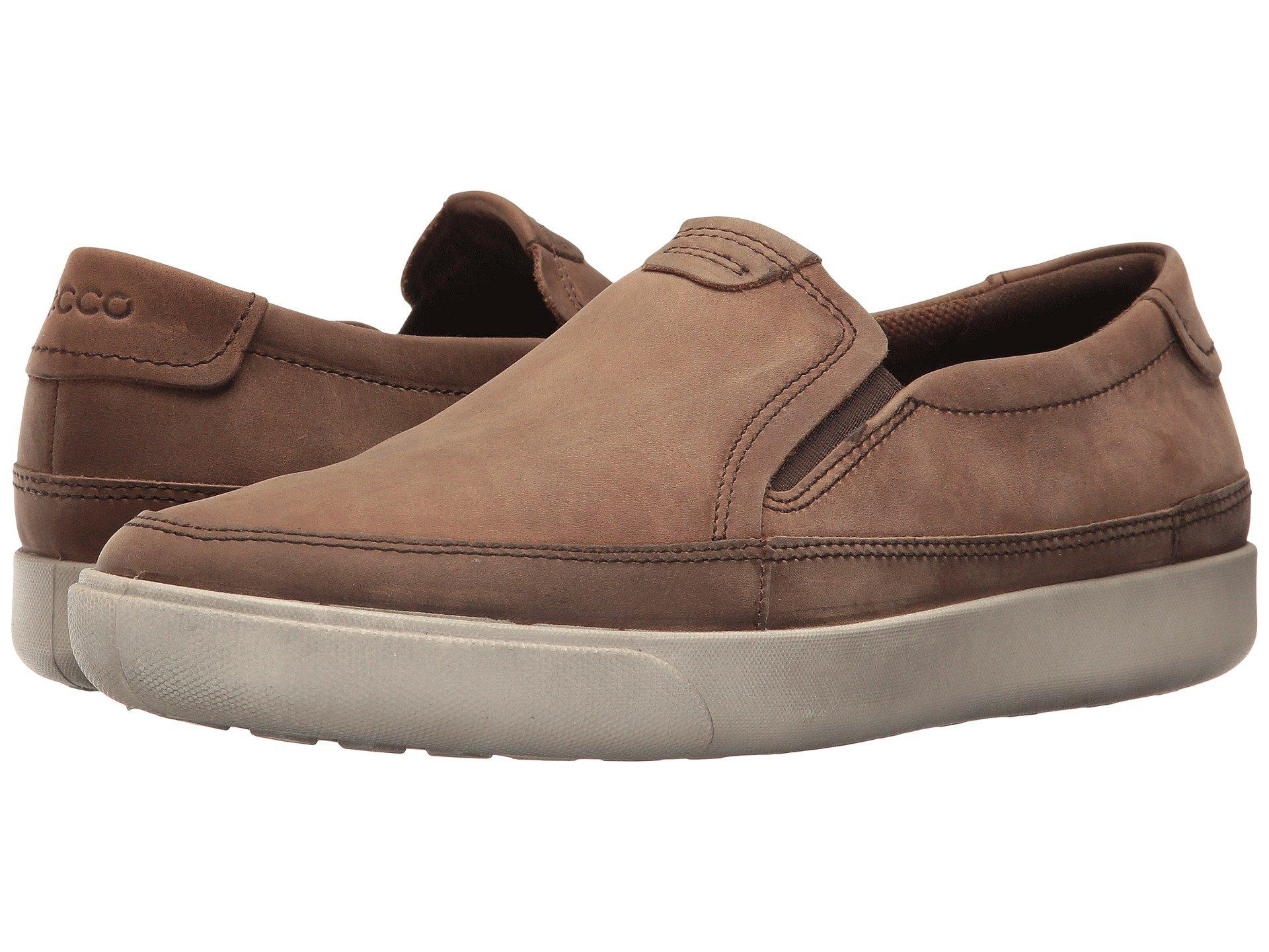 8a02352cf08a Lyst - Ecco Gary Slip-on in Brown for Men - Save 57%