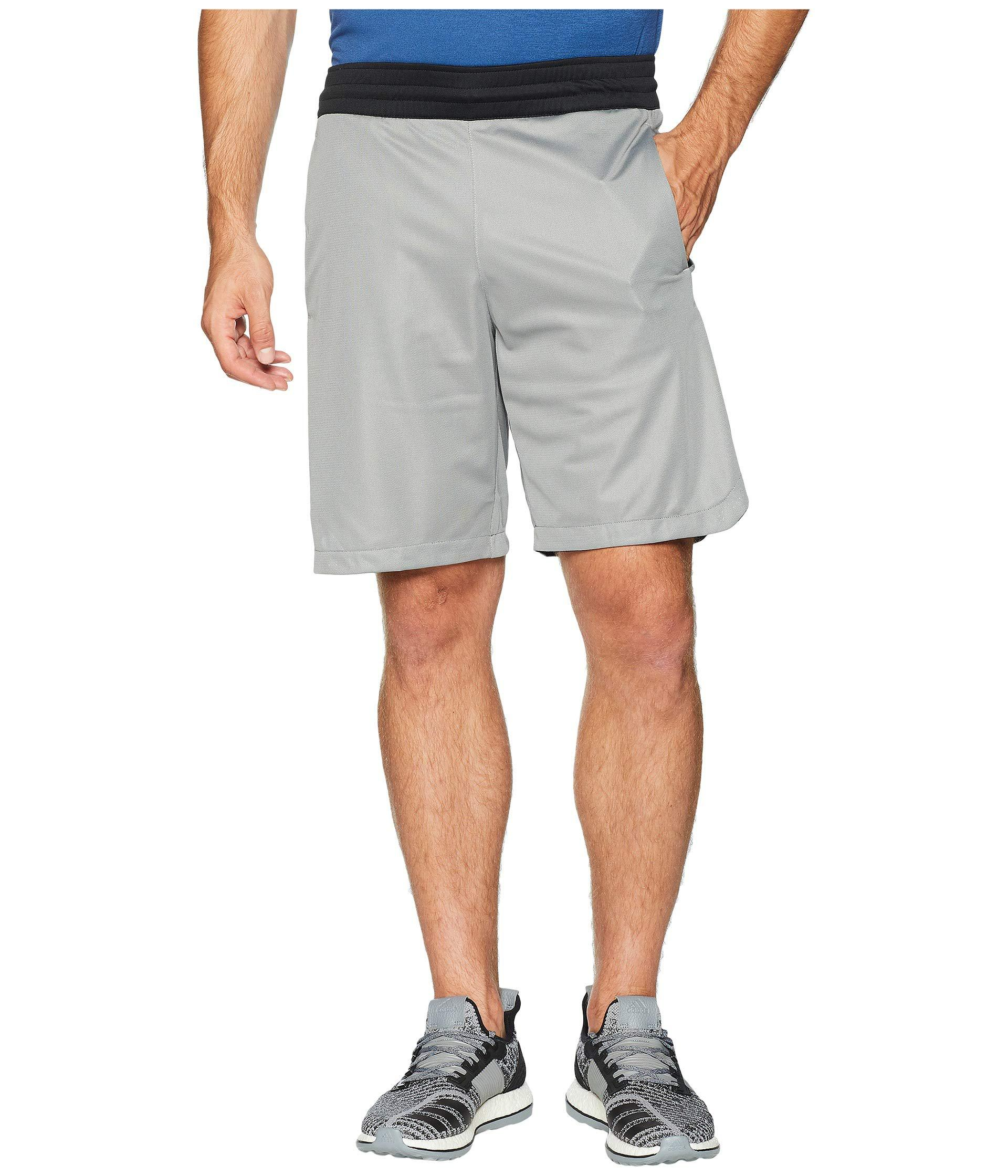 db277b20026c Lyst - Adidas Accelerate 3-stripes Shorts in Gray for Men