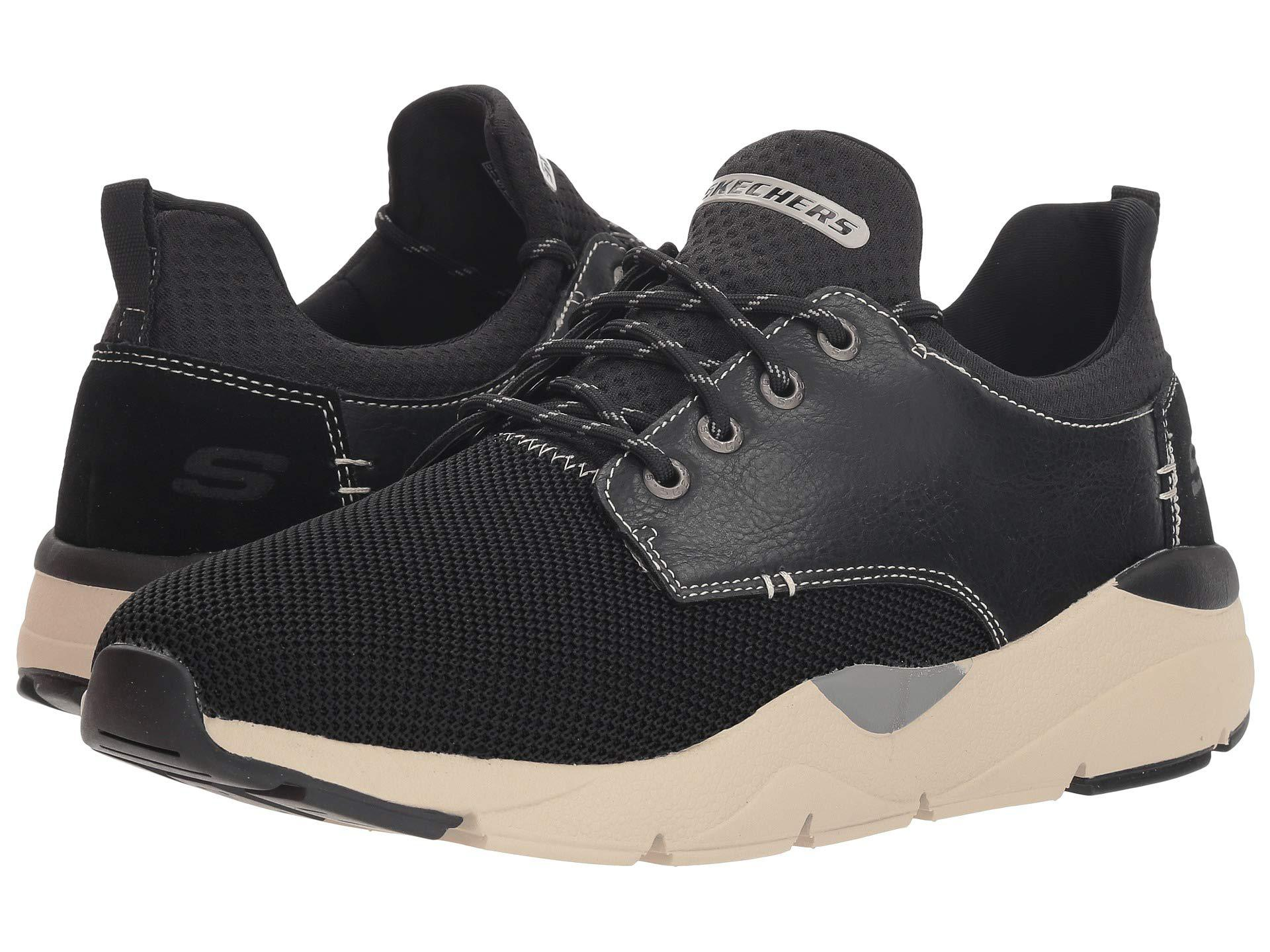 abdc4abad4ca Lyst - Skechers Relaxed Fit® Recent - Sereno in Black for Men