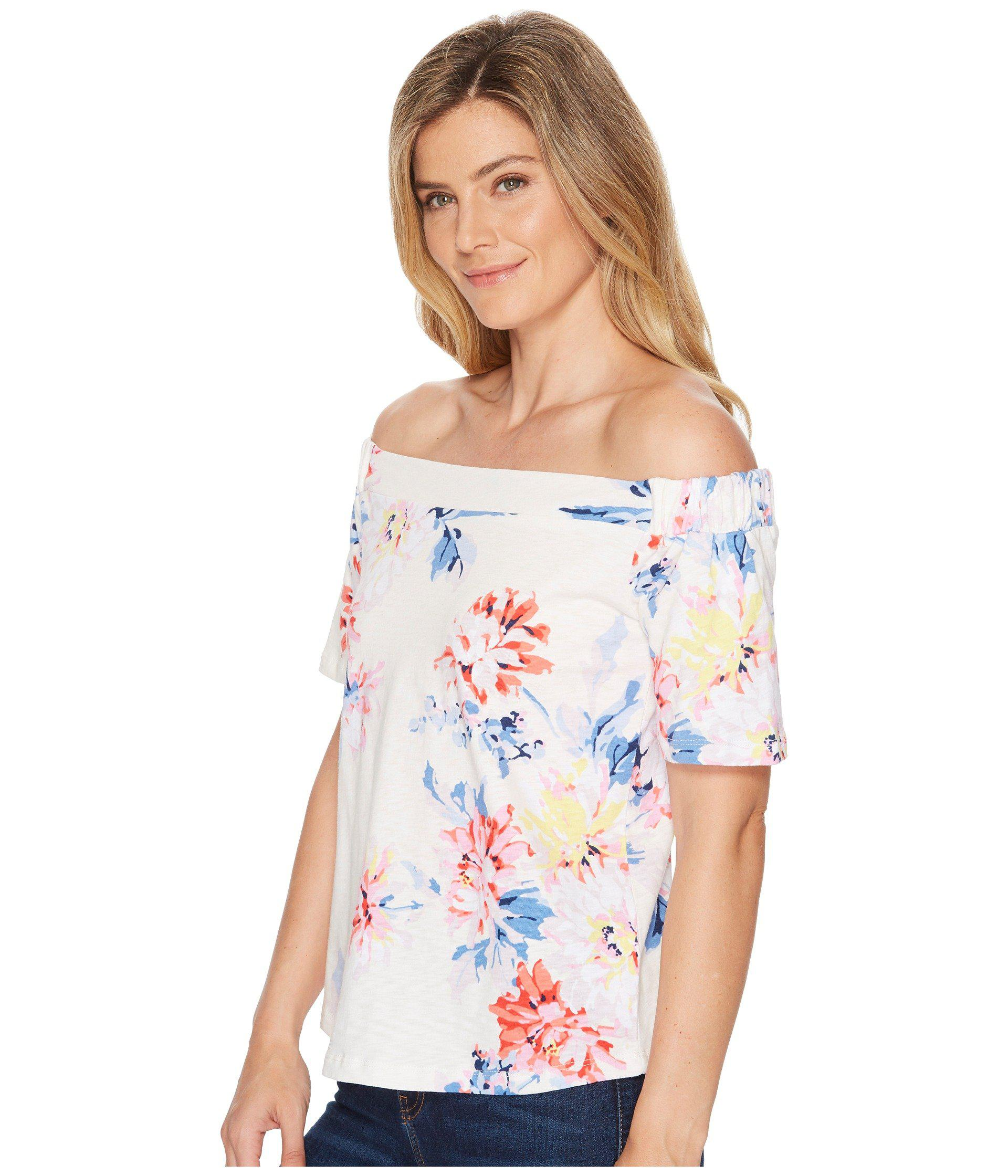 5cf2ab807bcc7 Lyst - Joules Oona Jersey Bardot Top - Save 50%