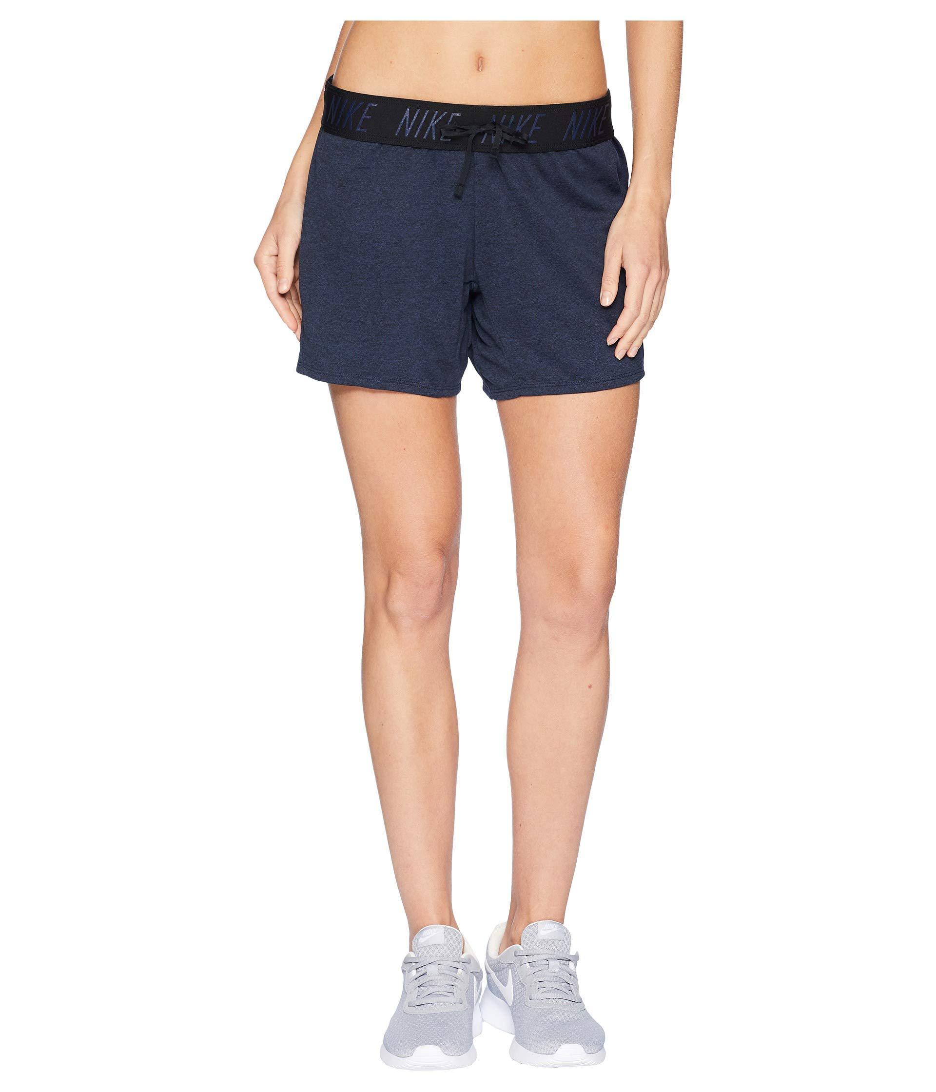 9b4475d082 Lyst - Nike Flex Attack Training Short in Blue