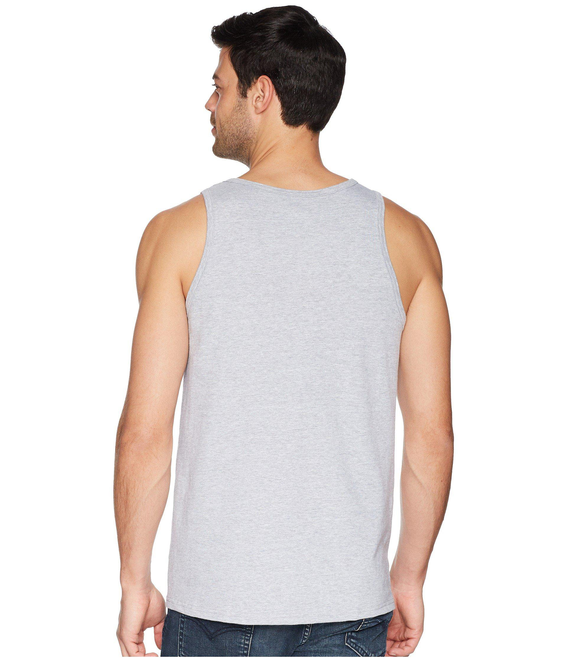 6a386415df86e Lyst - Quiksilver Stars   Stripes Tank Top for Men