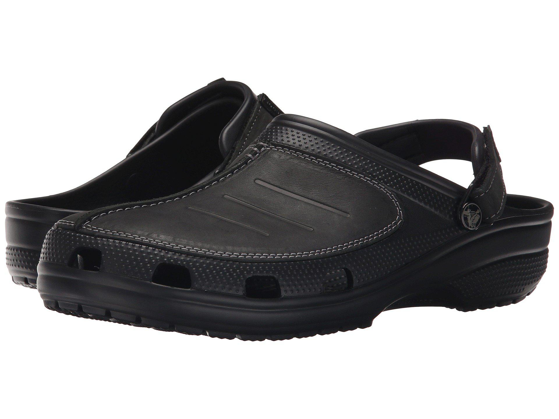 b178747c1 Lyst - Crocs™ Yukon Mesa Clog in Black for Men