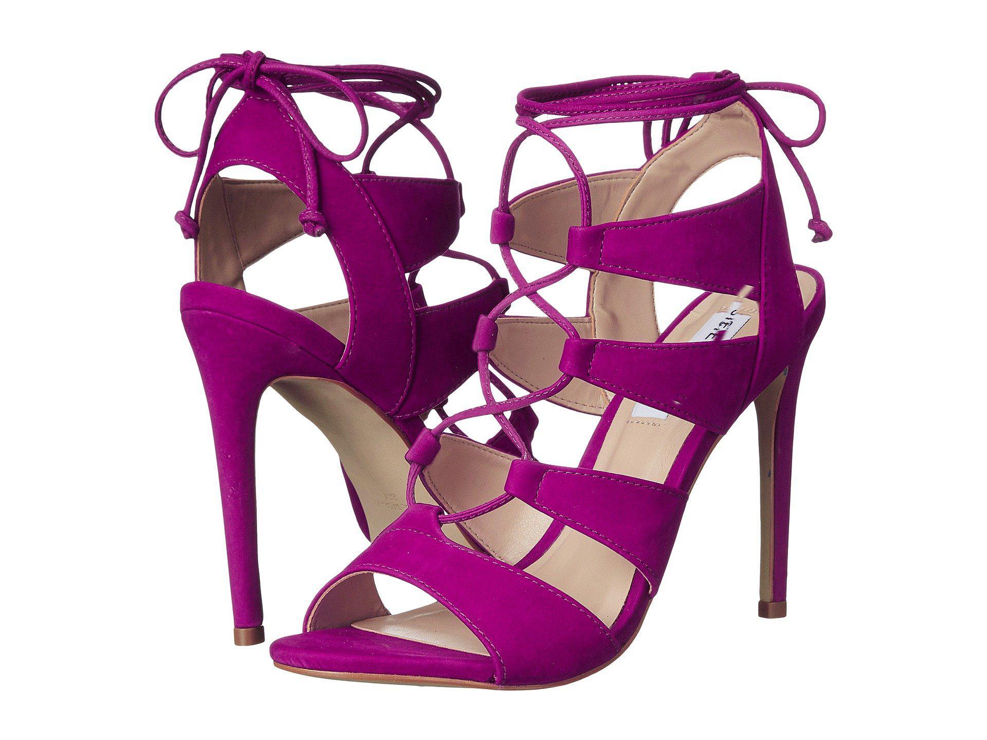 Steve Madden. Women's Purple Sandalia