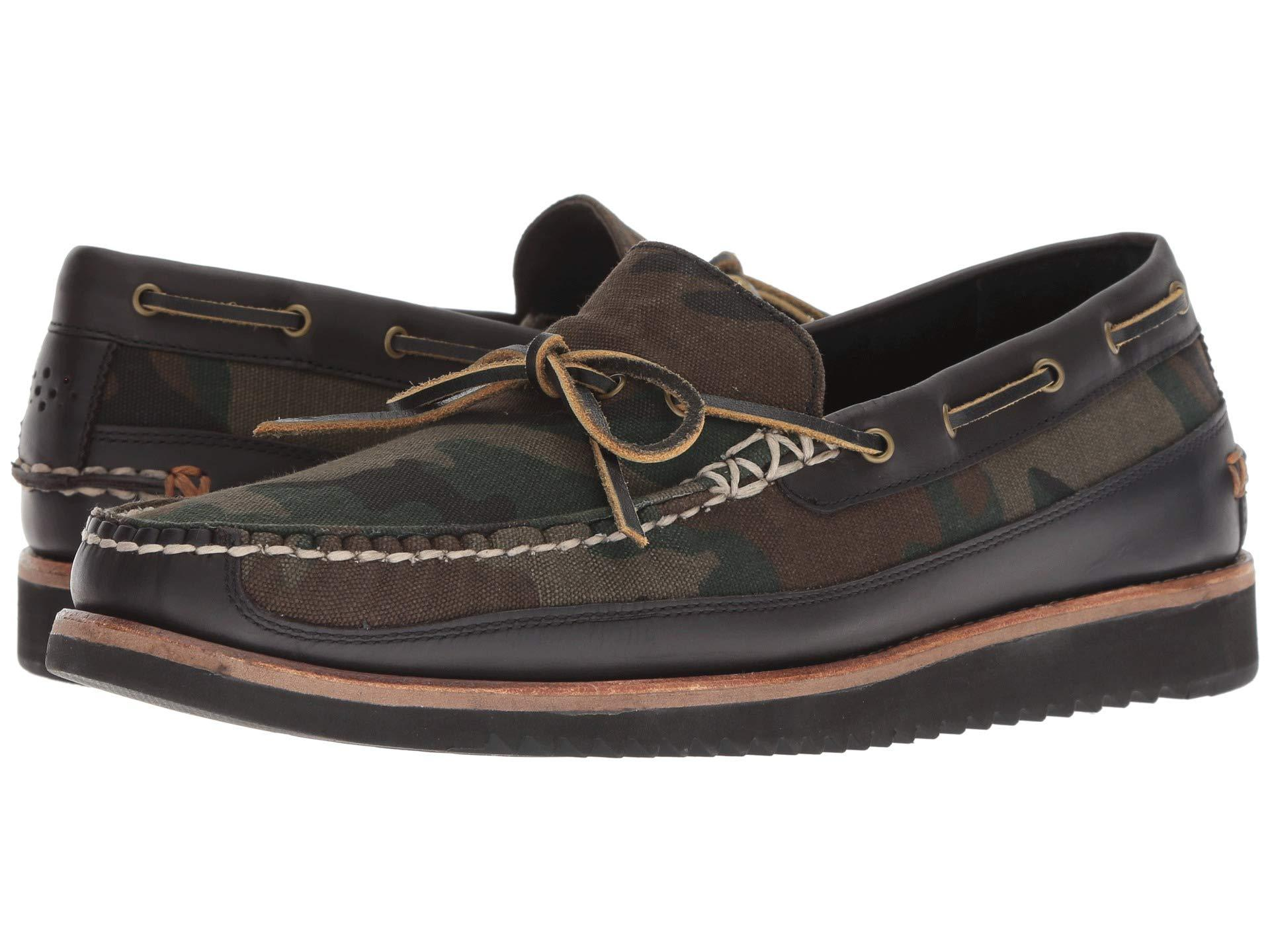 a044b0ab09c44 Lyst - Cole Haan Pinch Rugged Camp Moccasin Loafer in Black for Men ...