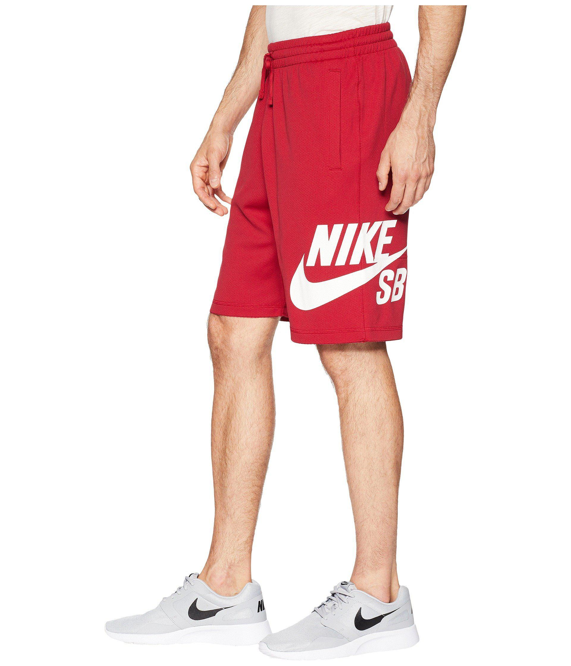 3bb040ae76 Lyst - Nike Sb Dri-fit Short in Red for Men