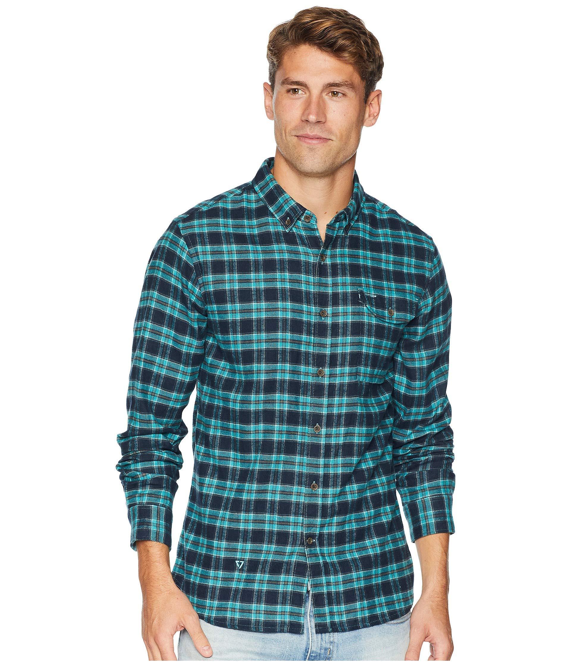 b6d3db1ac5 Vissla Central Coast Flannel Shirt Navy. Vissla. Men s Blue Central Coast Long  Sleeve Flannel