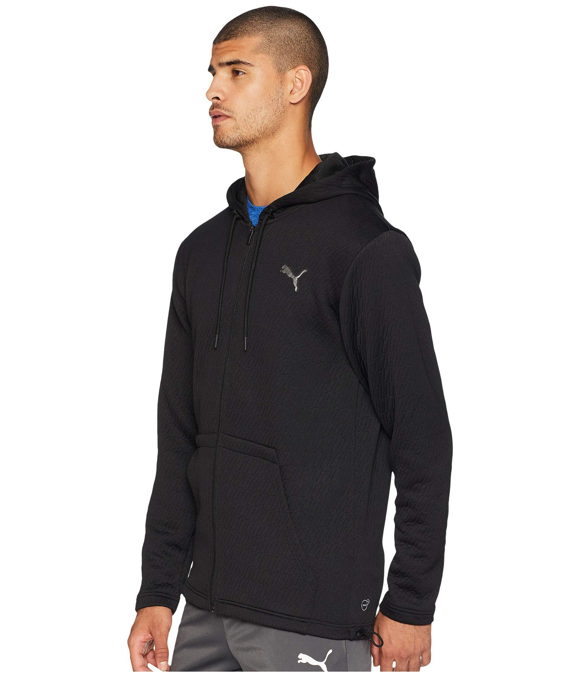 600fc31944ff Lyst - PUMA Vent Hooded Jacket in Black for Men - Save 35%
