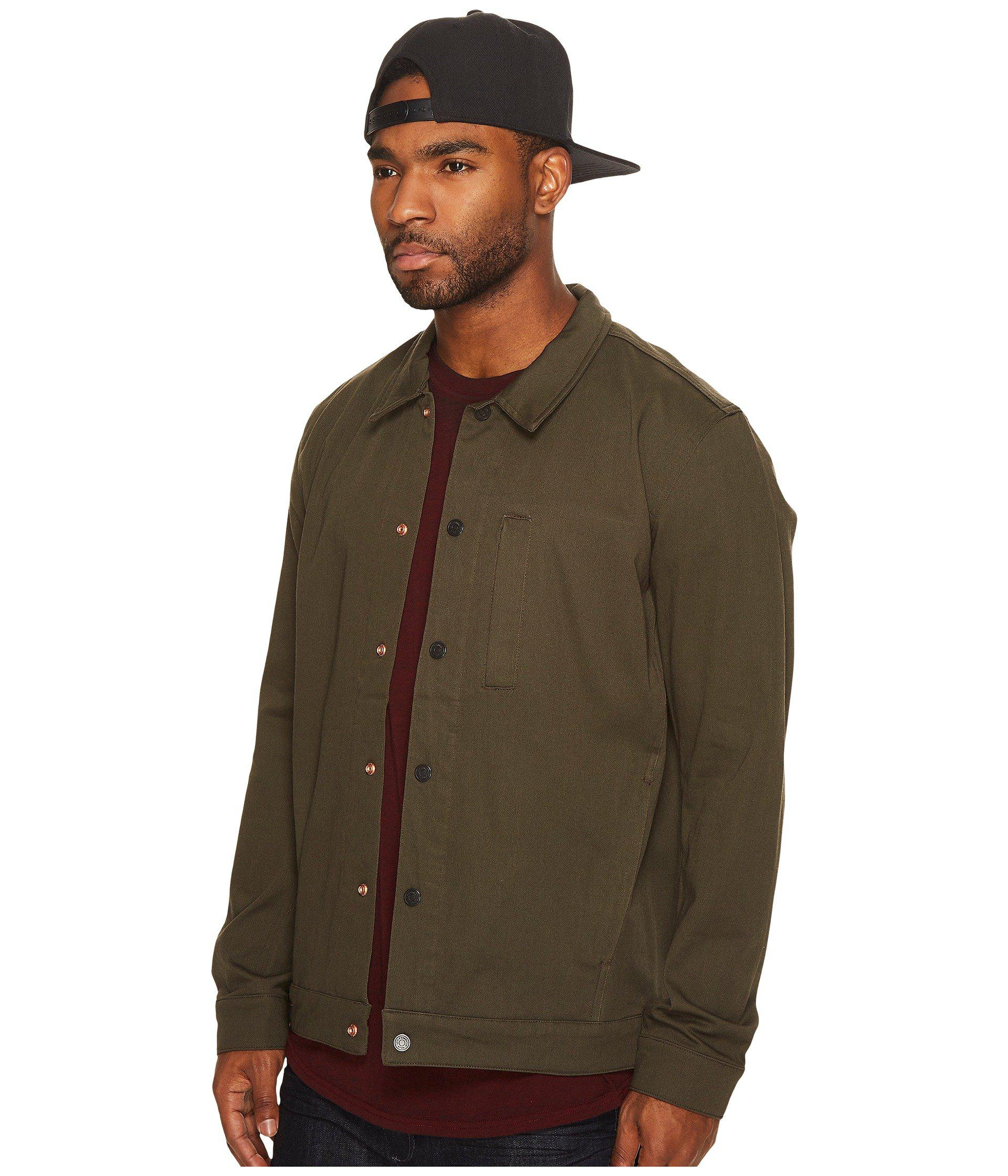 0470b884 Levi's Commuter Pro Coaches Jacket in Green for Men - Lyst