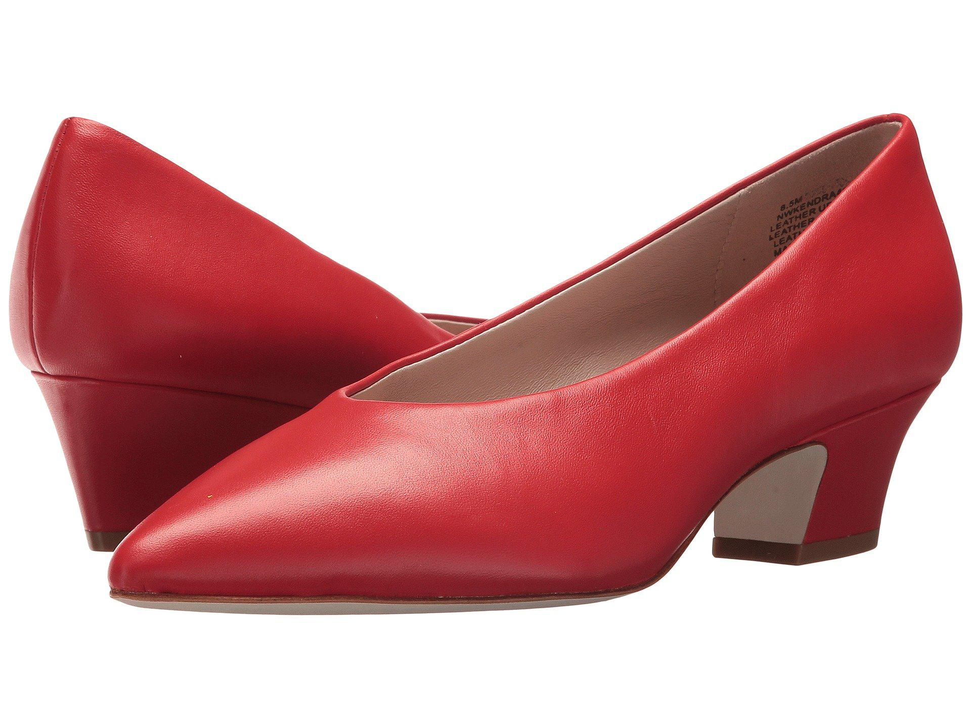 015c17fae90a Lyst - Nine West Kendra 40th Anniversary Pump in Red