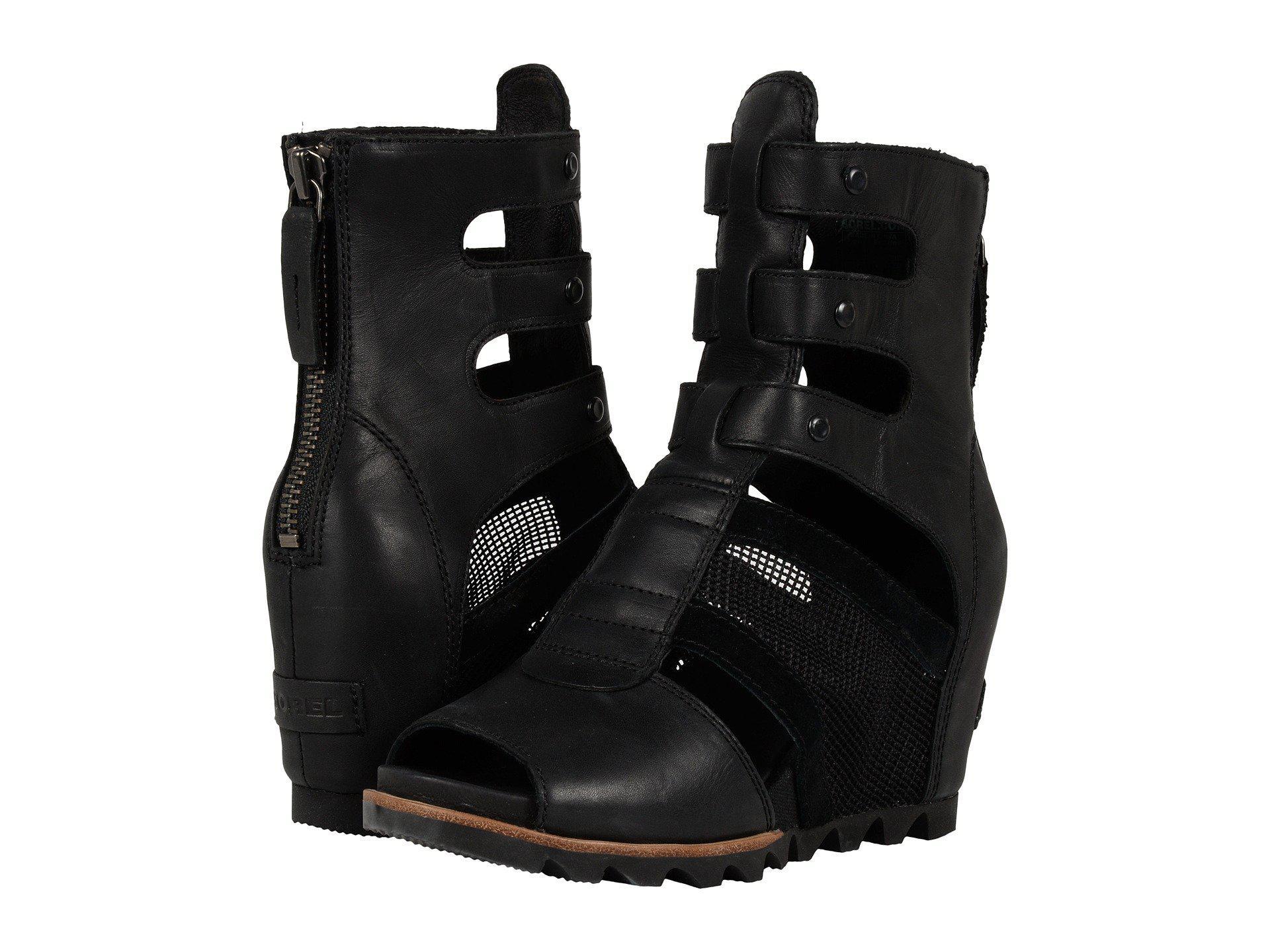 4a32394ca70e Lyst - Sorel Joanie Gladiator in Black